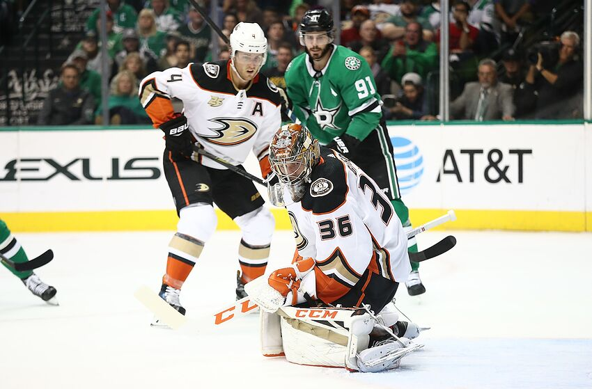 Pre Game Puck Drop Anaheim Ducks Vs Dallas Stars