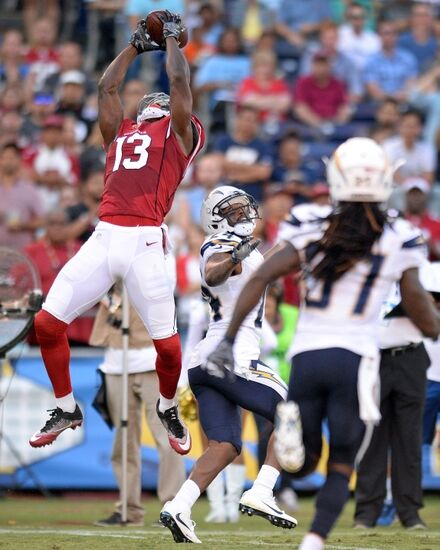 San Diego Chargers Cardinals: Arizona Cardinals: Jaron Brown Stepping Up