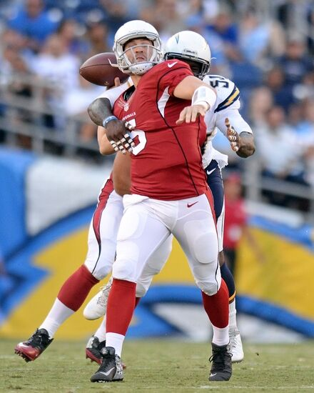 San Diego Chargers Cardinals: Arizona Cardinals Backup QB's Leave More To Desire