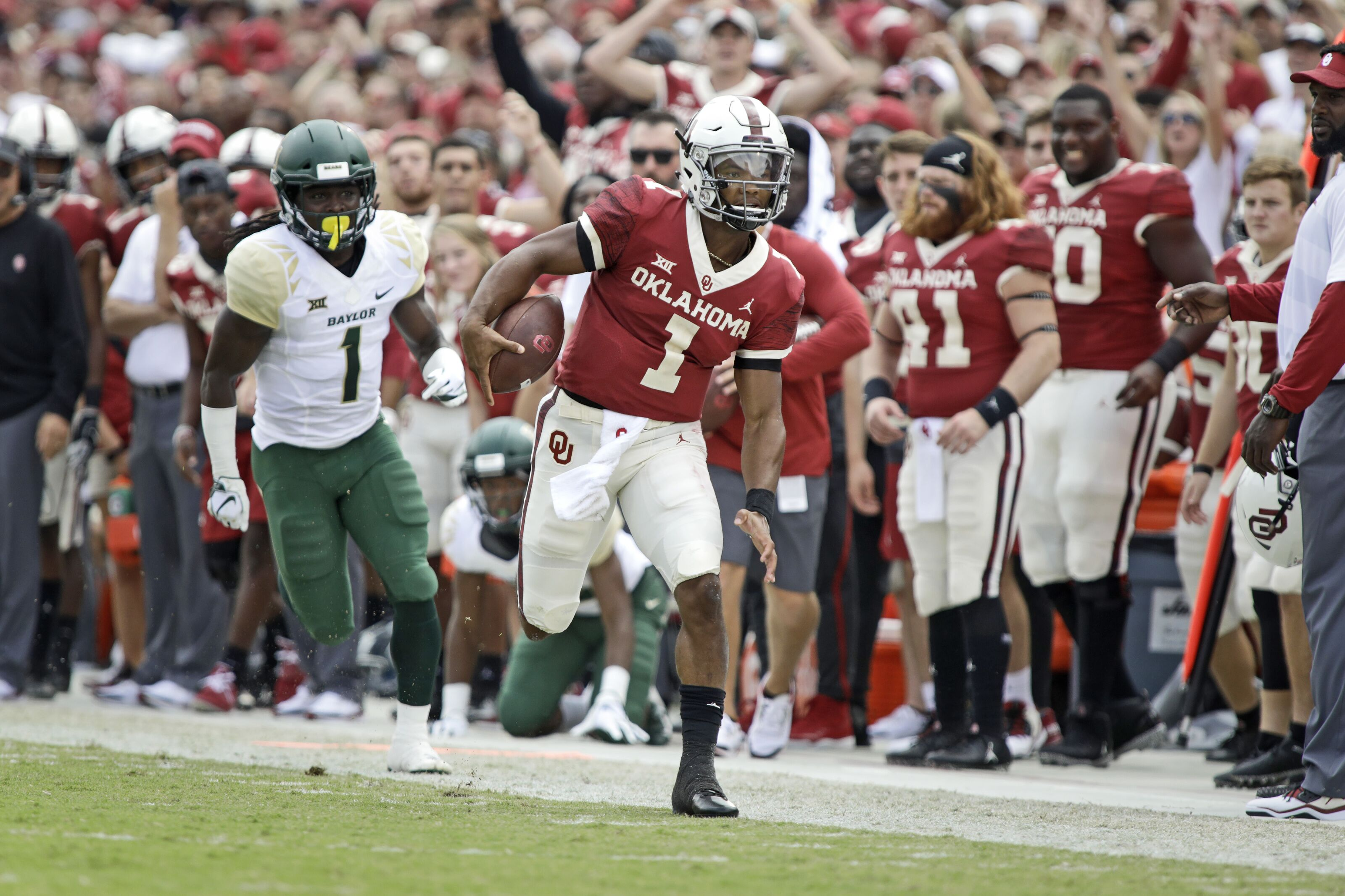 c42bdd6af40668 Arizona Cardinals: Kyler Murray's perceived 40-yard-dash time is scary fast