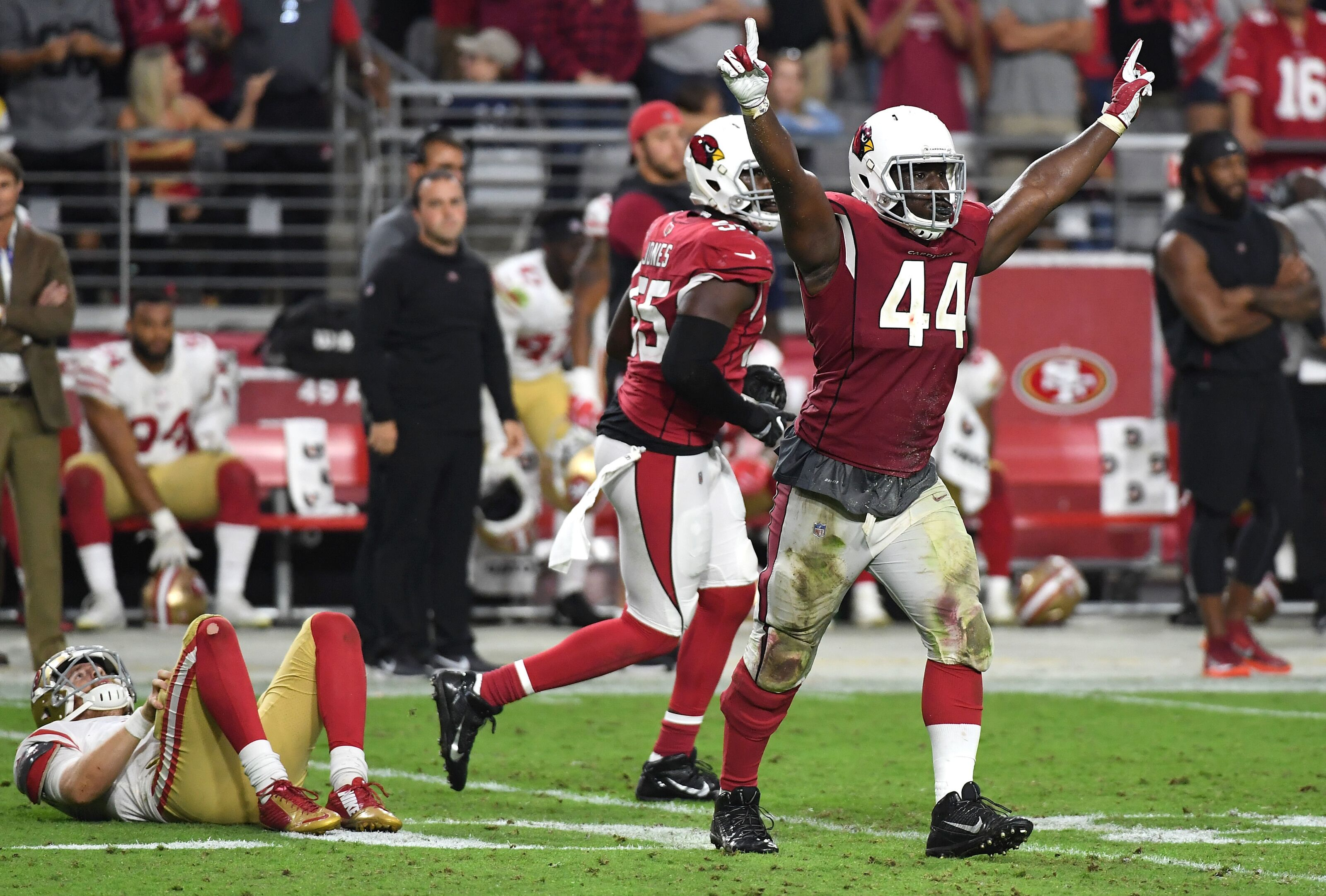 Arizona Cardinals will be without Golden against Seahawks