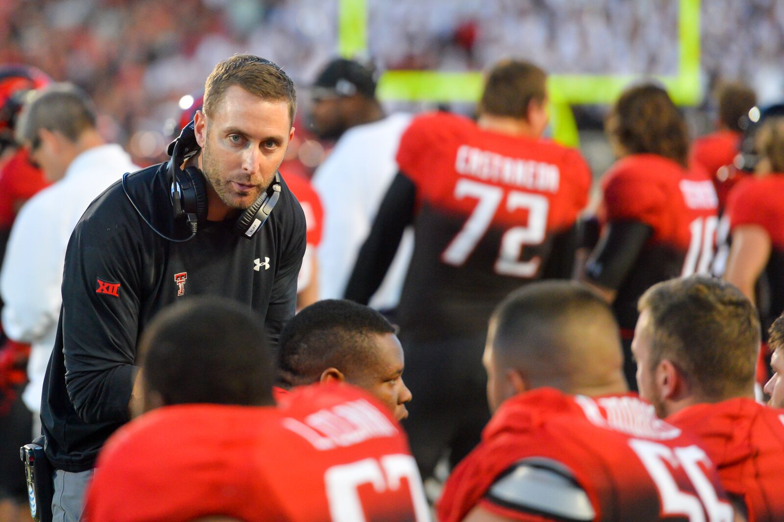 Kliff Kingsbury is setting a culture change for the Arizona Cardinals