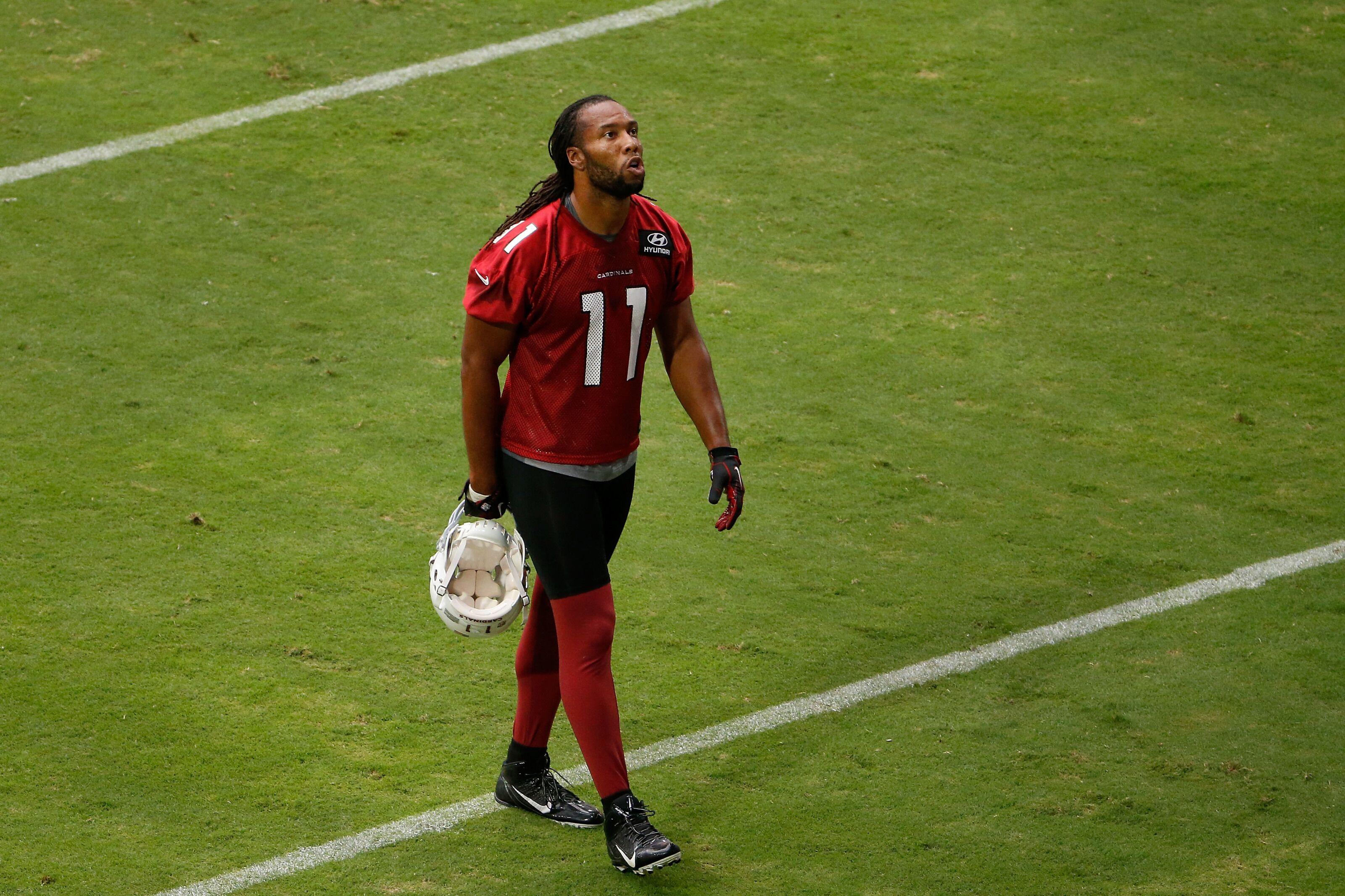 Delay of game in Arizona Cardinals training camp annoucement