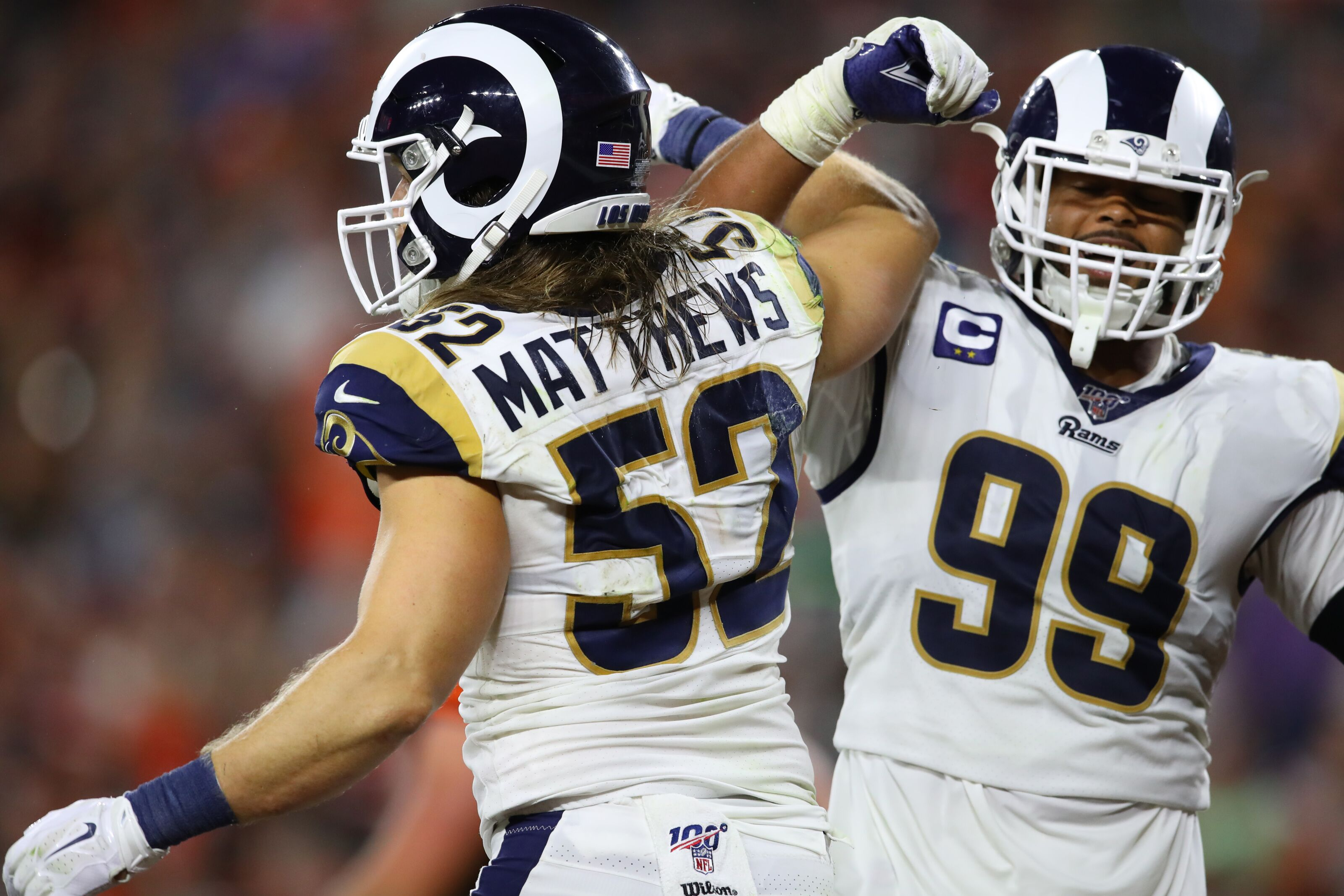 pretty nice 415bf 52f44 Los Angeles Rams: Clay Matthews already topped 2018 sack total