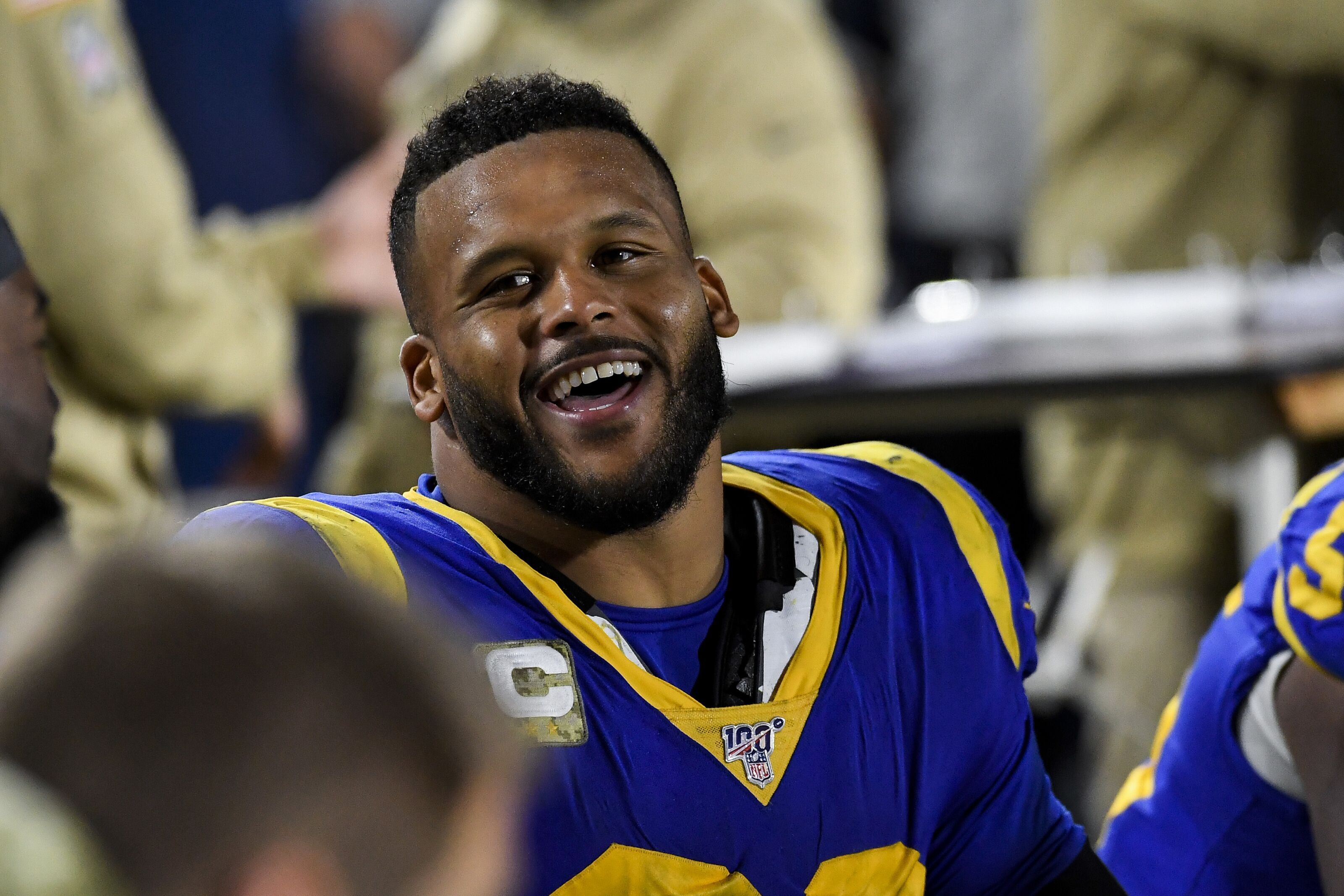 Aaron Donald recording sack for sixth game in a row against Ravens will be challenging