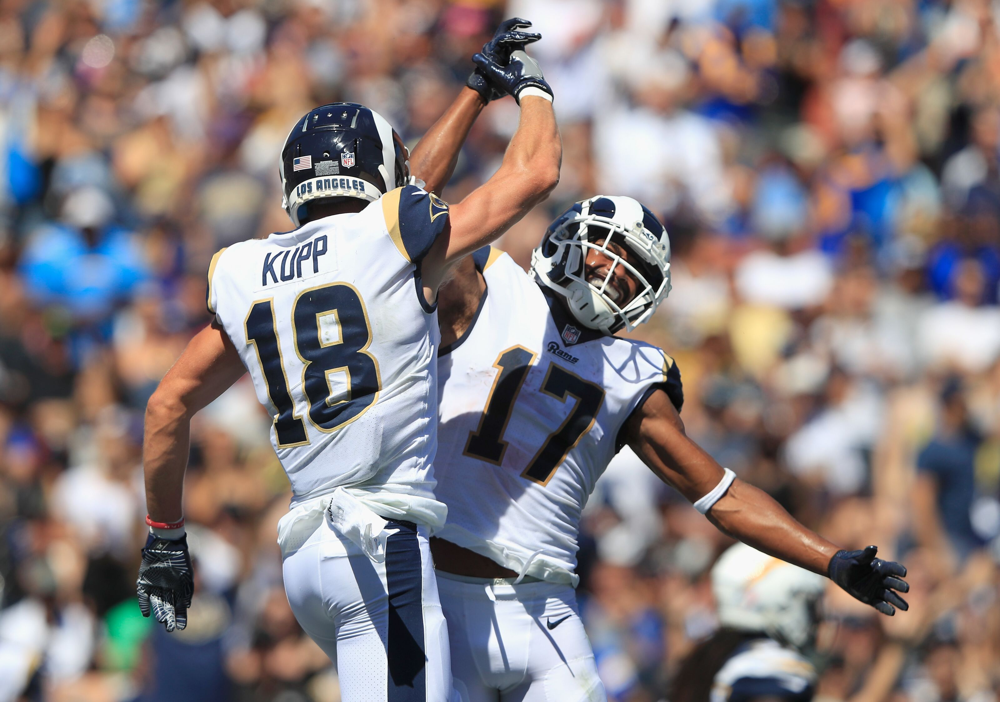 PFF acknowledges how strong Los Angeles Rams are at wide receiver