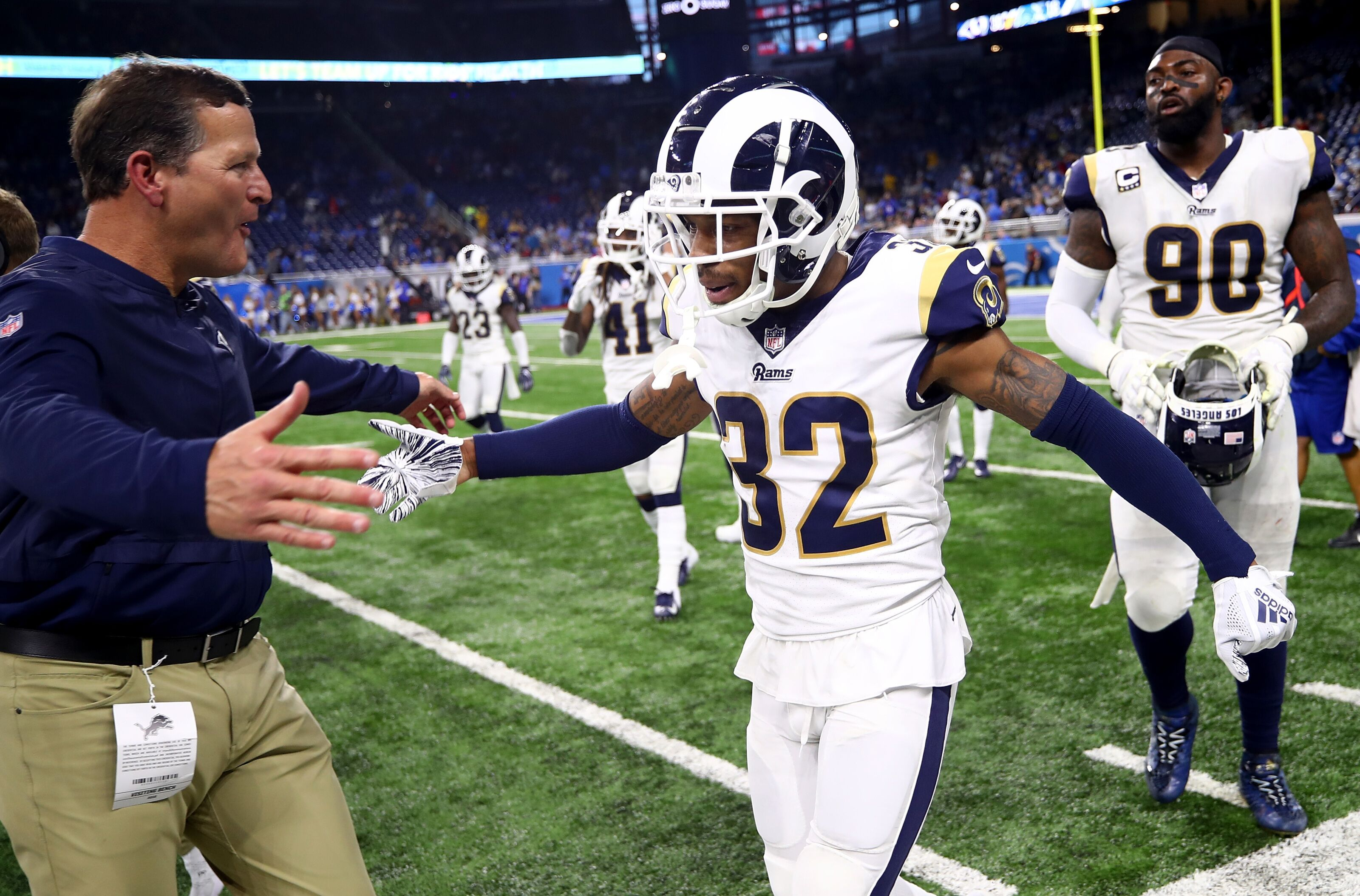 Signing Troy Hill through 2020 season helps Rams in big way on defense