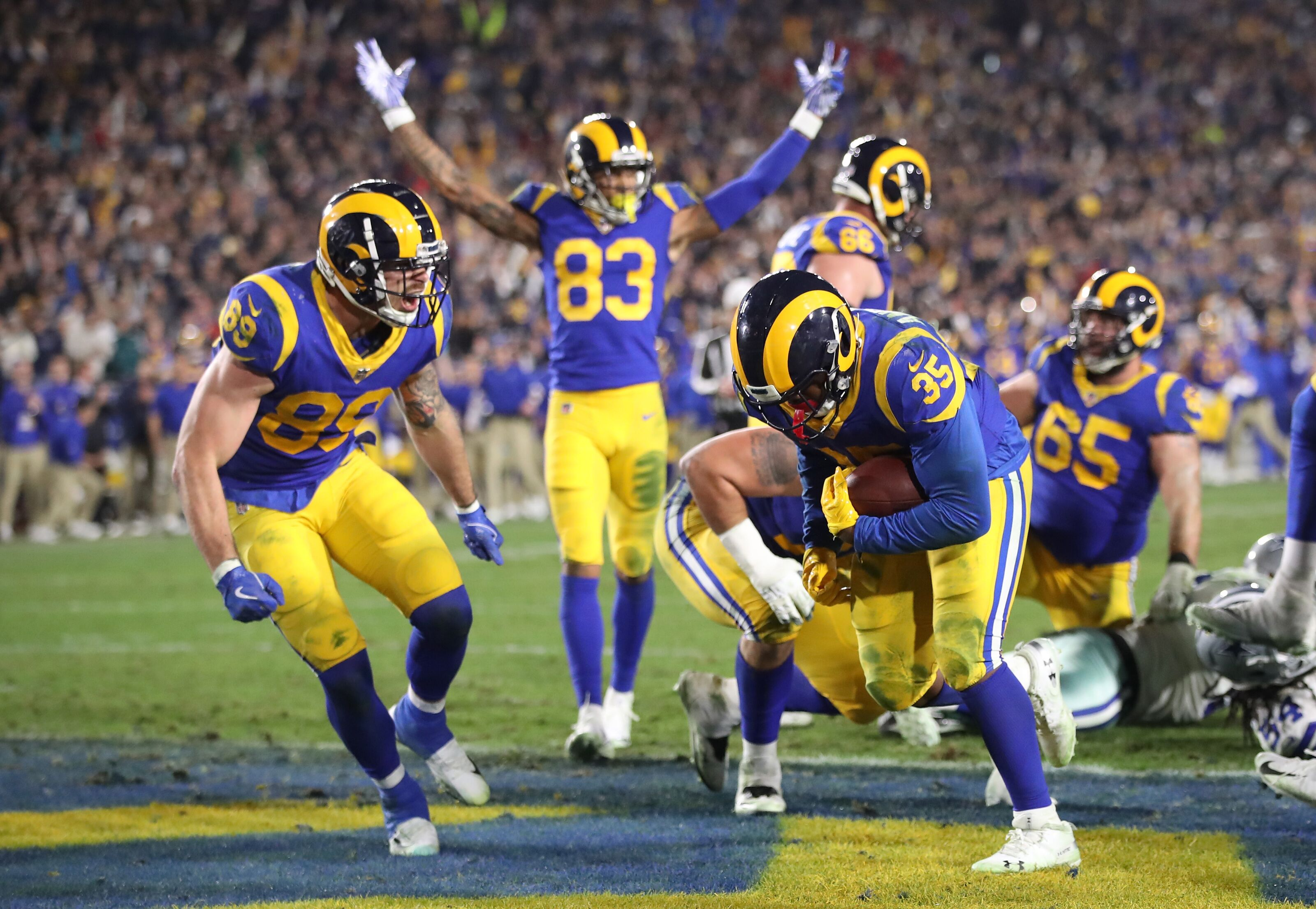 d9002eacd Los Angeles Rams will wear classic colors for the Super Bowl in Atlanta