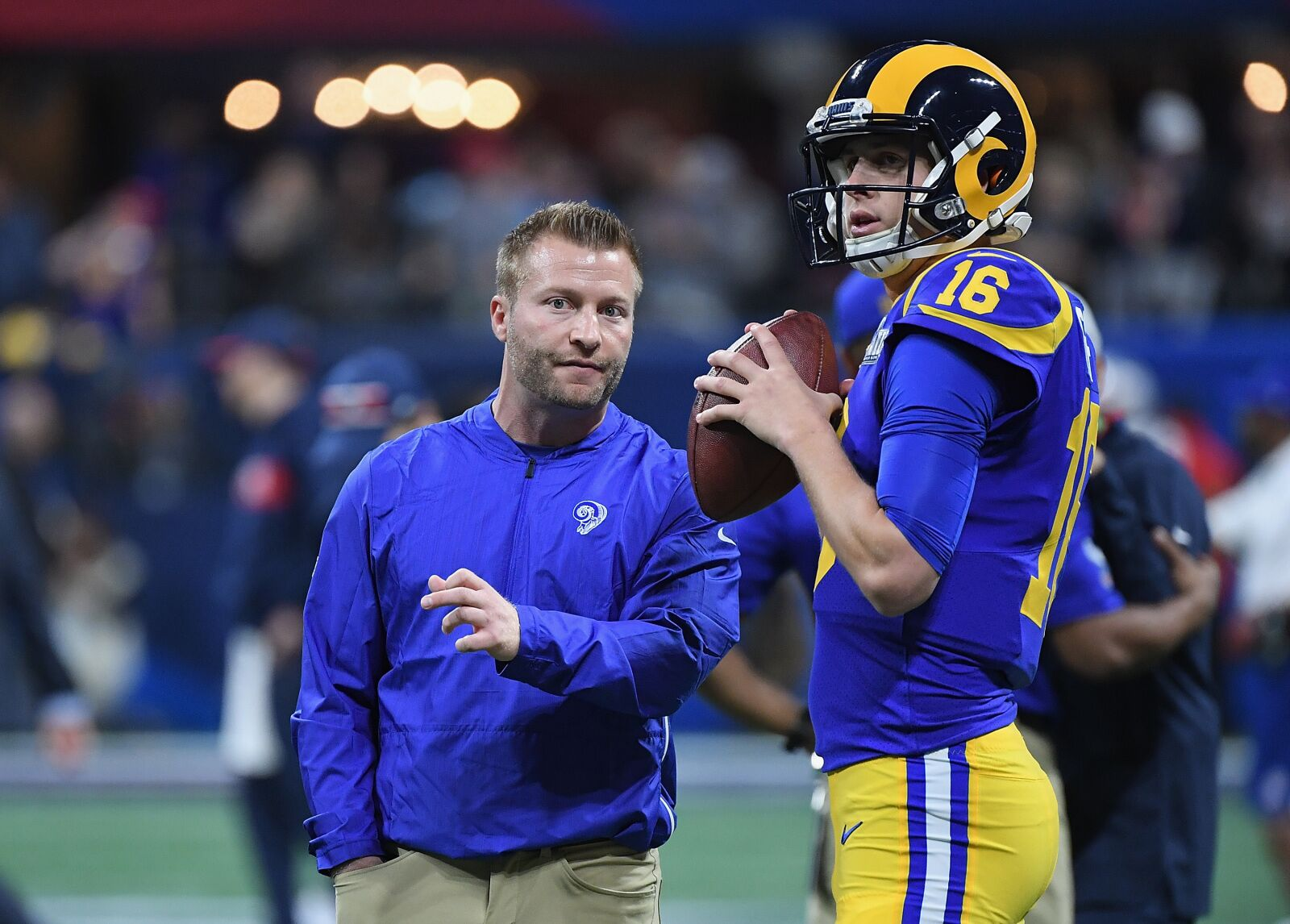 Rams once again face new level of pressure as contender heading into 2019