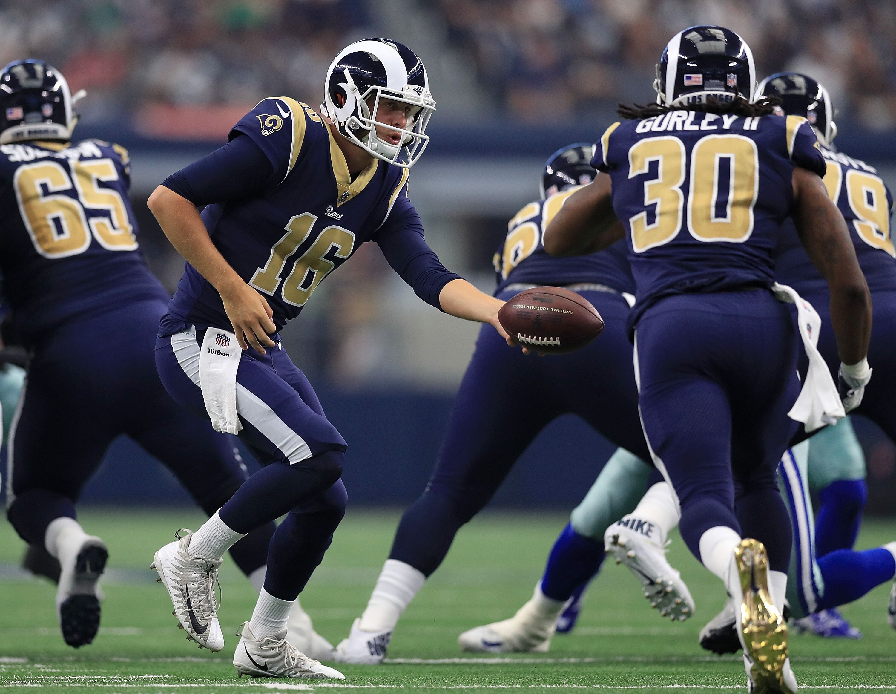 41828ec3 Los Angeles Rams fans won't see a uniform change for a few more years.