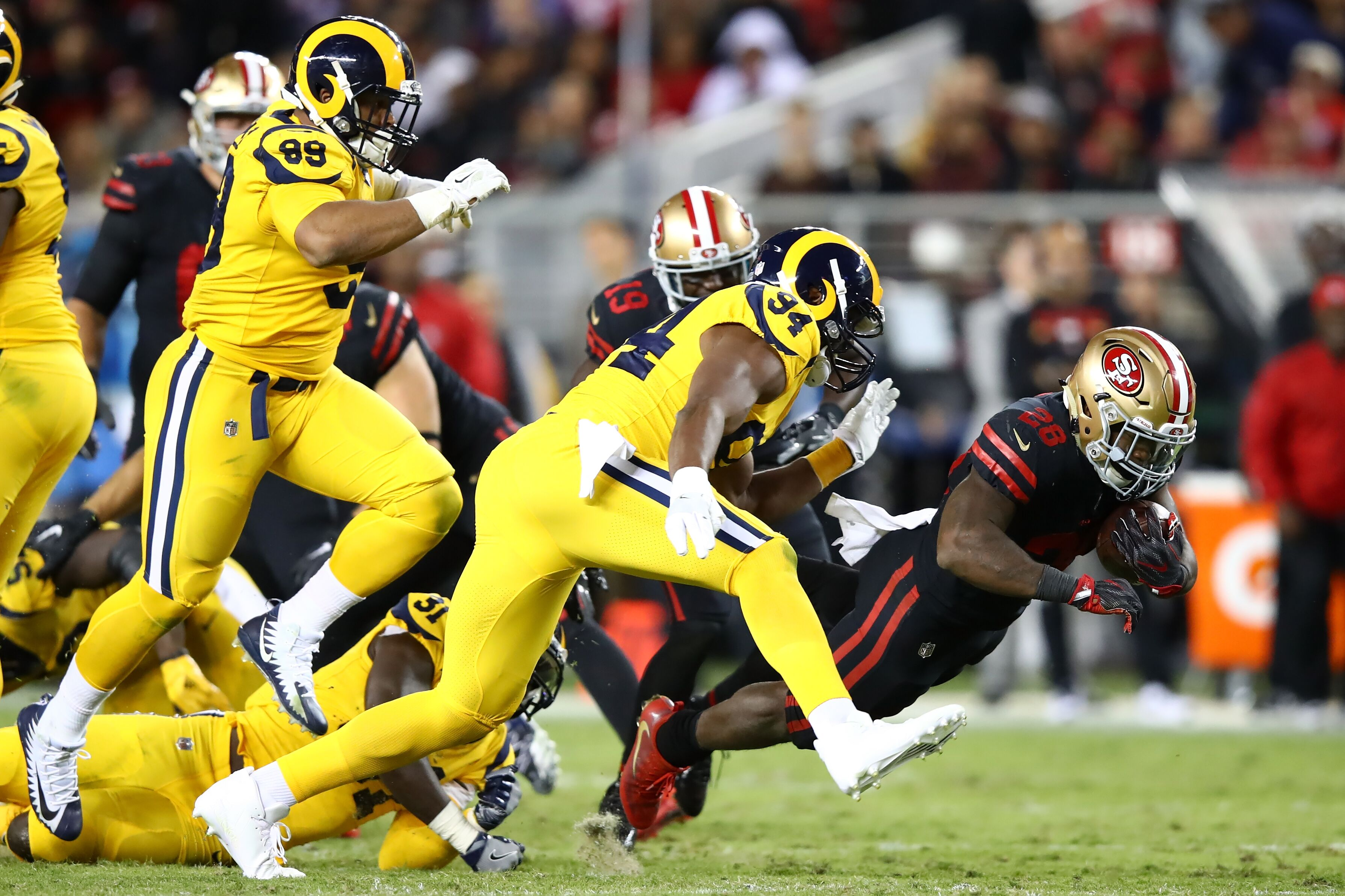 5f263c061cc Los Angeles Rams: Can fans say goodbye to those Color Rush uniforms?