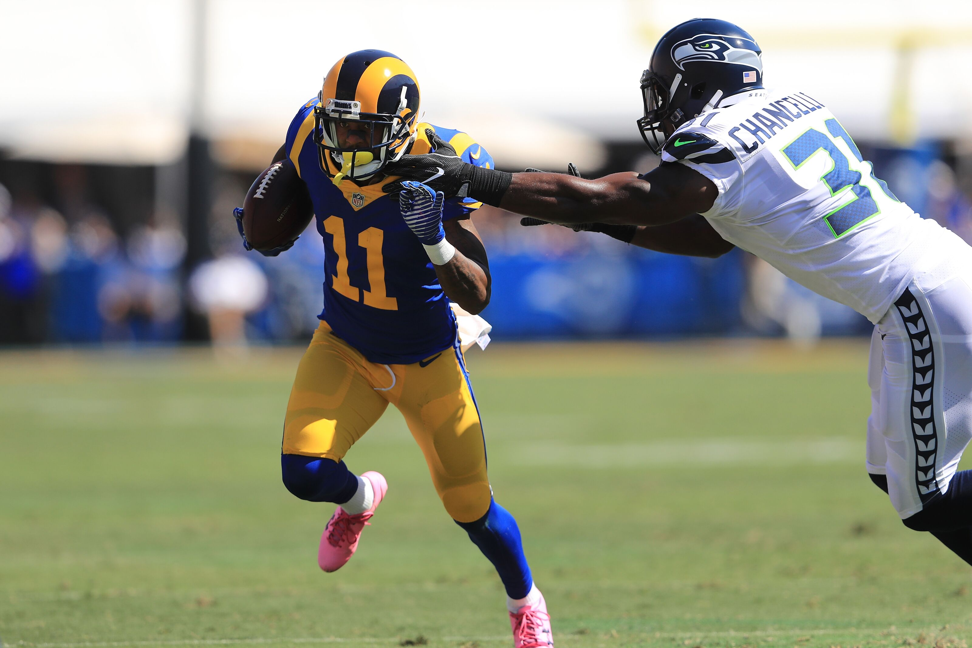 ef787f34332 Los Angeles Rams: Tavon Austin trade cleared way for rookies