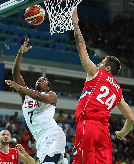 Denver Usa Shooting: Raptors In Rio: USA 94