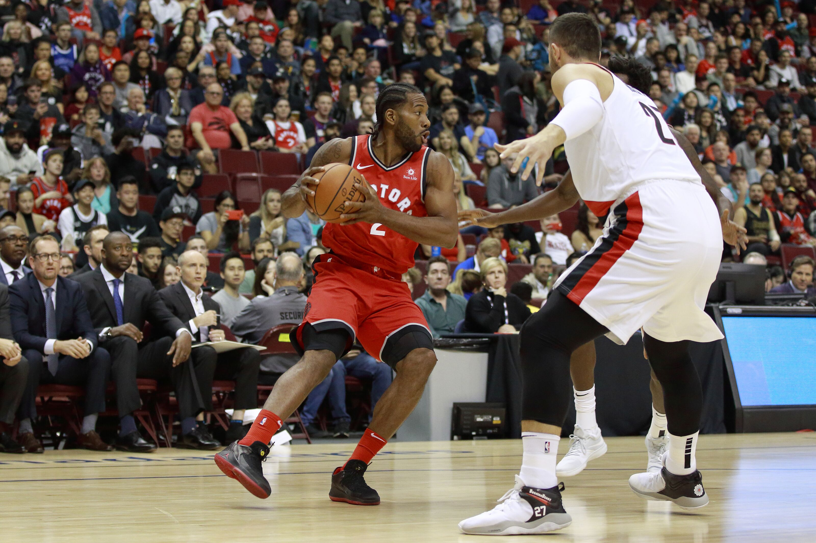 1afcb2376 Toronto Raptors  Three overreactions from Kawhi Leonard s preseason debut