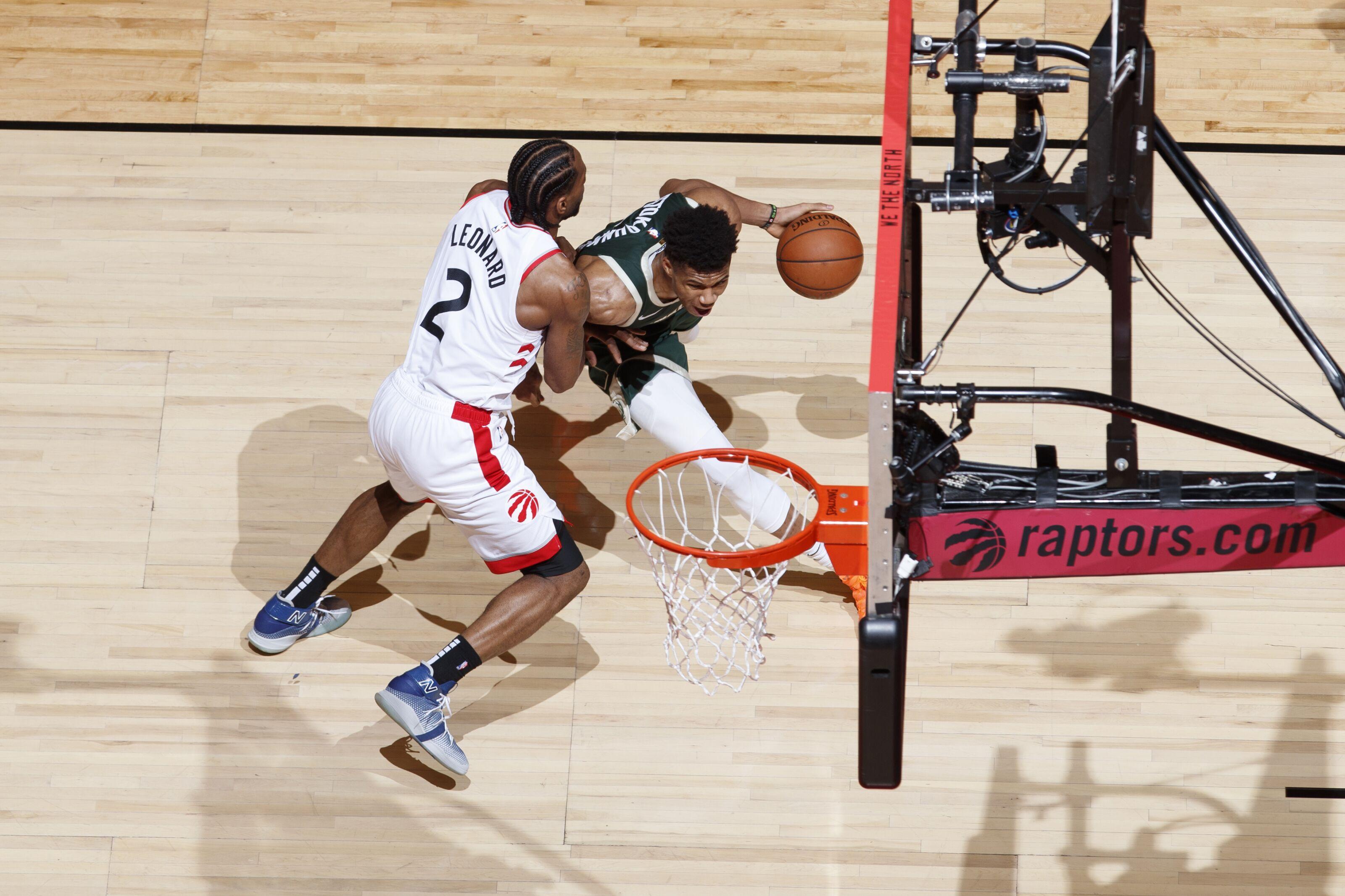 0ef8577ccf19 Kawhi Leonard defending Giannis might save the Toronto Raptors season