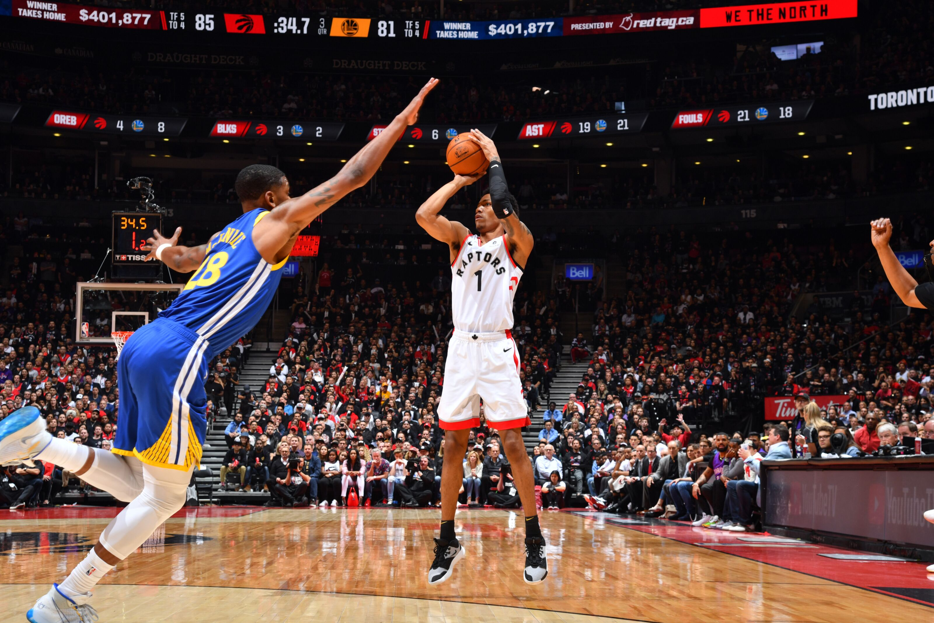 Re-signing Patrick McCaw is shrewd business for Toronto Raptors