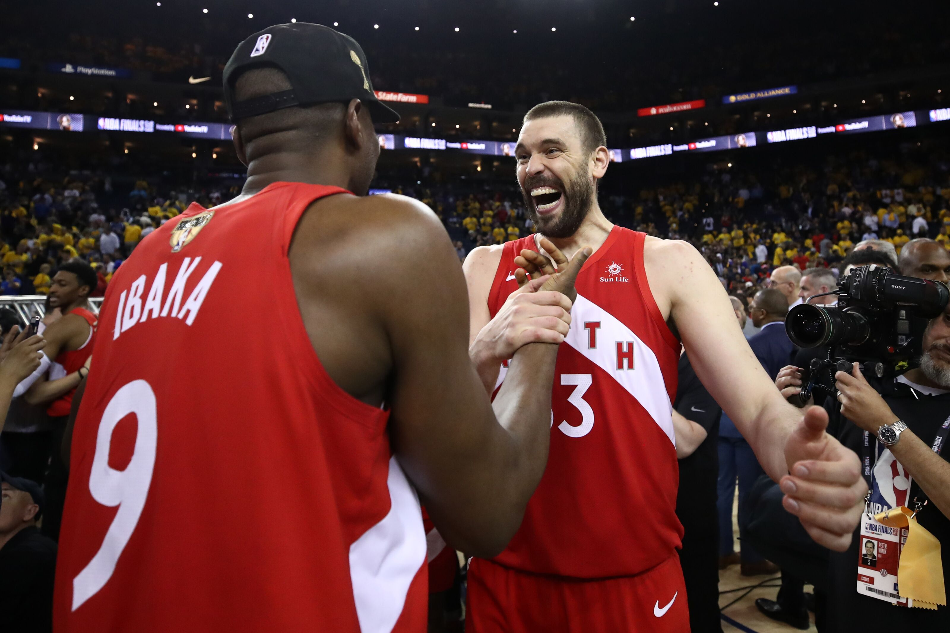 Toronto Raptors have too much money invested in centers