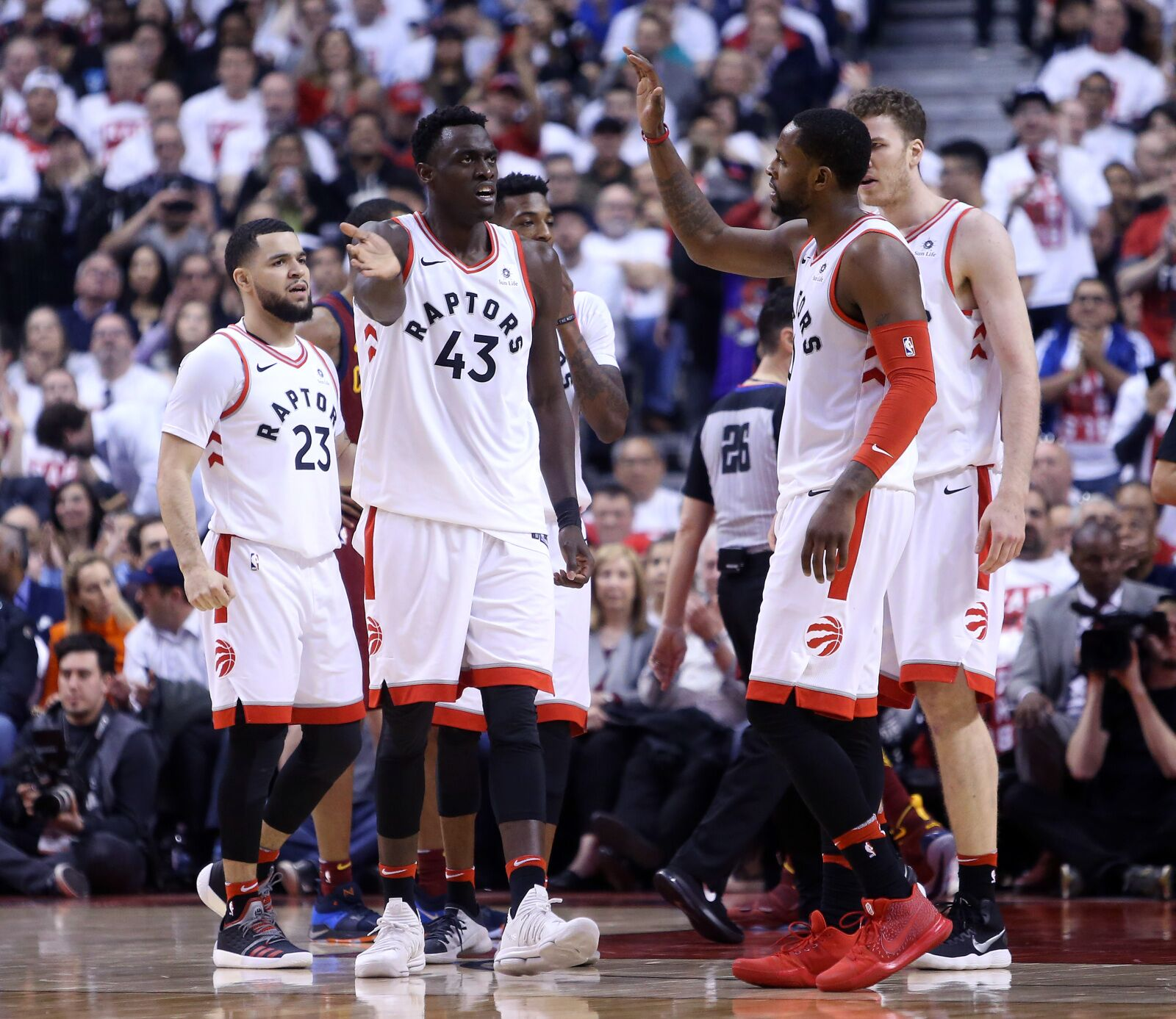 Pascal Siakam will see the most growth for the Toronto Raptors next year