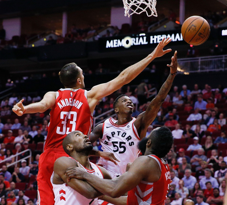pretty nice f65bd fdbd3 Toronto Raptors  Weekly NBA news including Ryan Anderson being traded