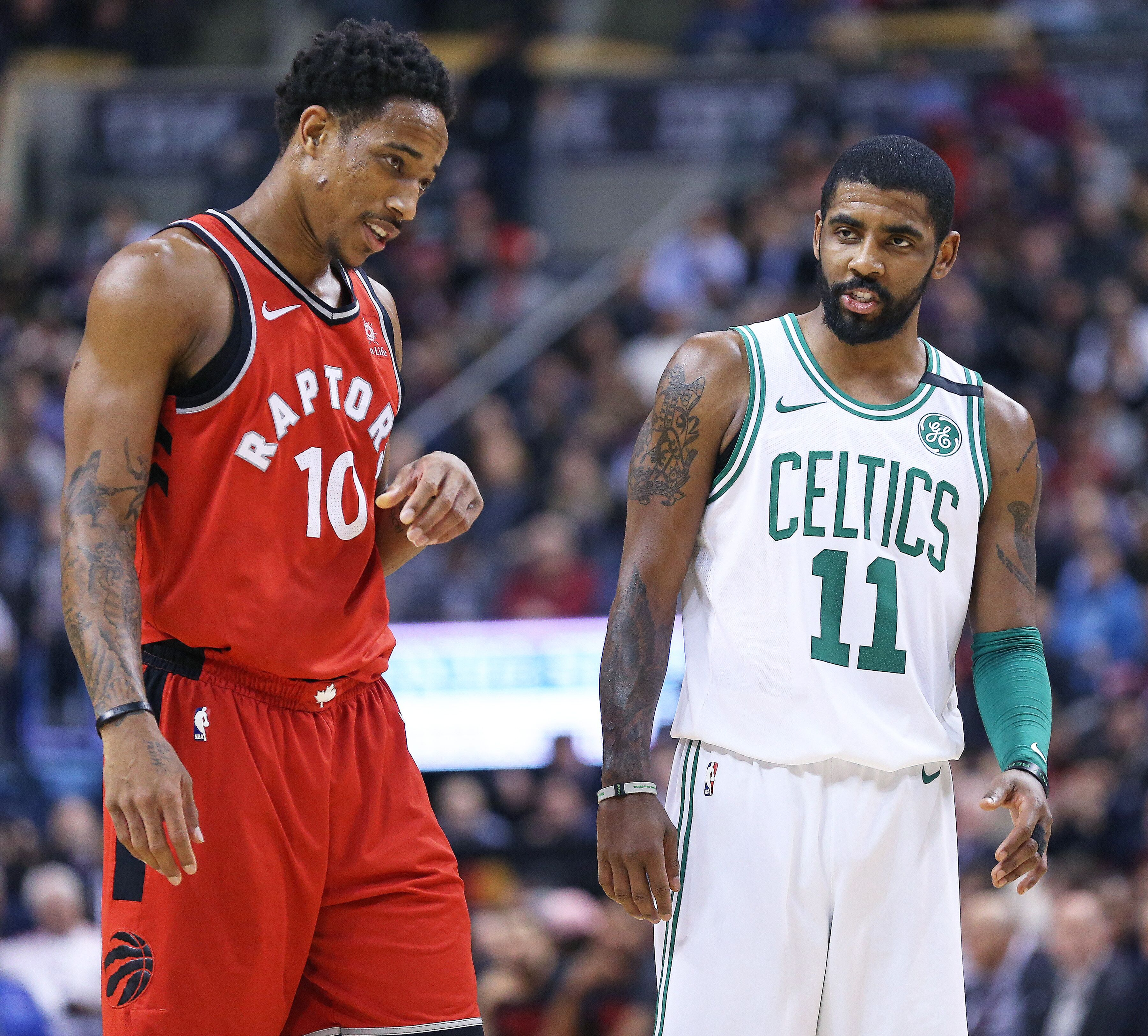 d7f5096580ed The Raptors  five toughest games are Houston and Boston at home
