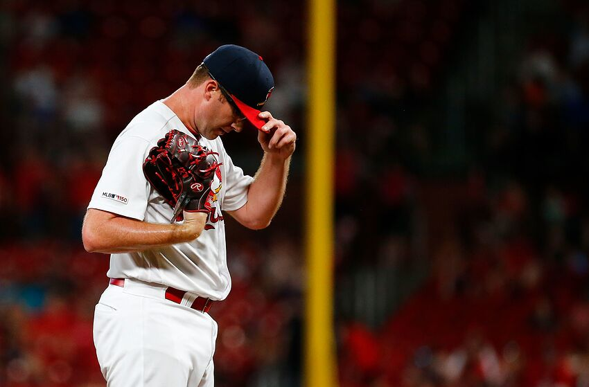 St Louis Cardinals Tyler Webb Should Not Be On The Roster