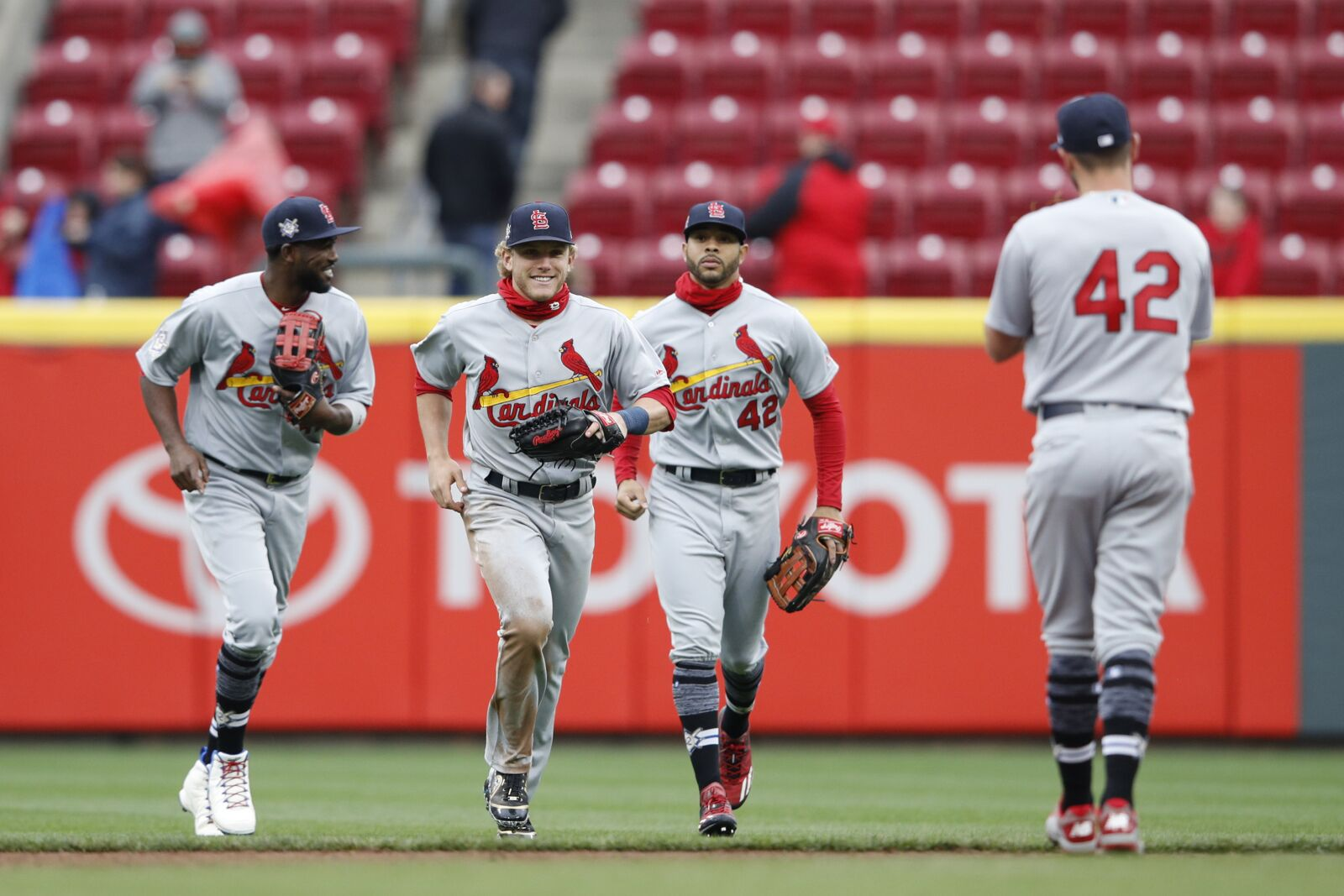 c3aa5c6743f St. Louis Cardinals  Harrison Bader may return to a platoon