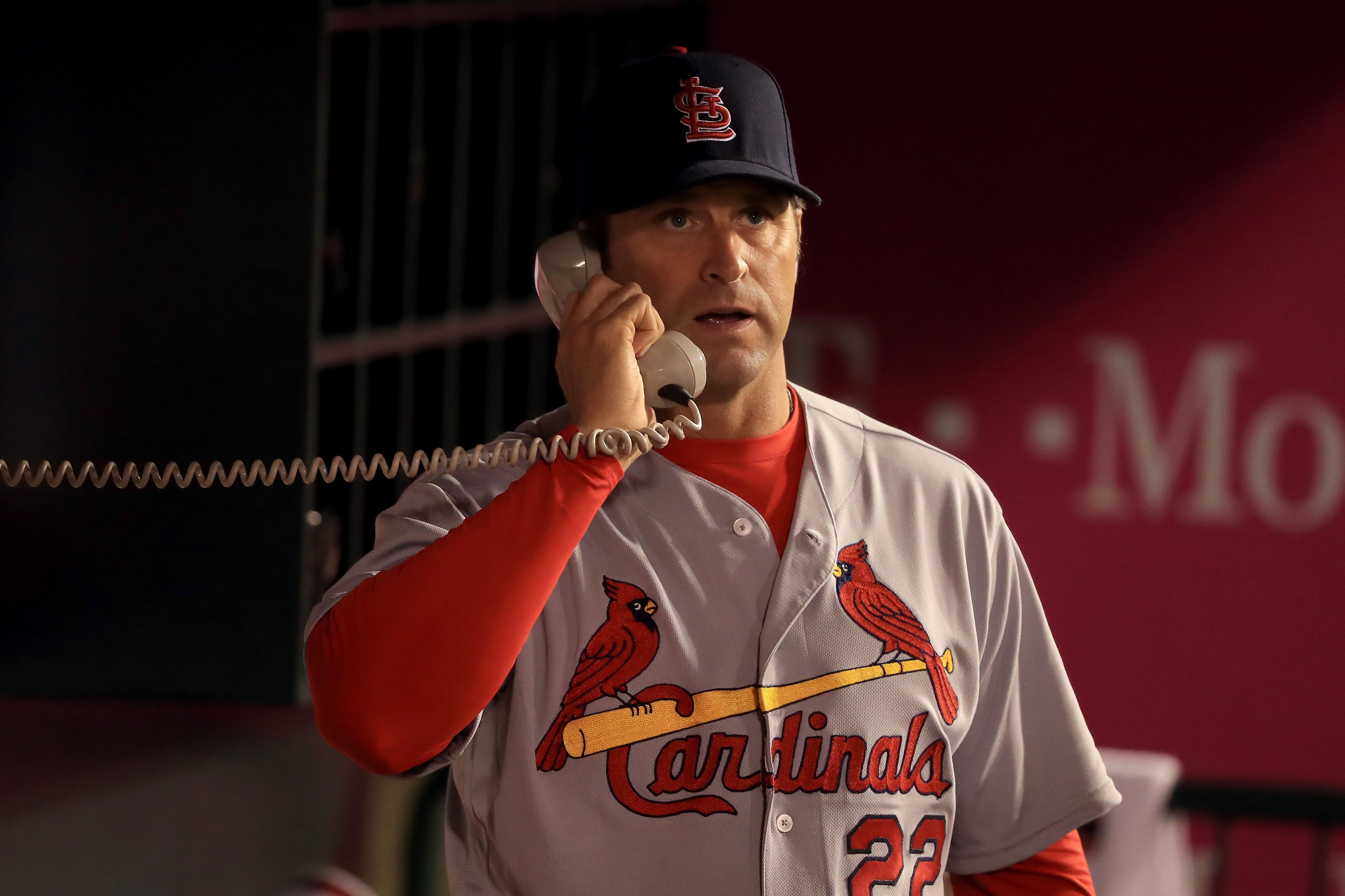 St. Louis Cardinals: Mike Matheny with a chef knife and eerie music
