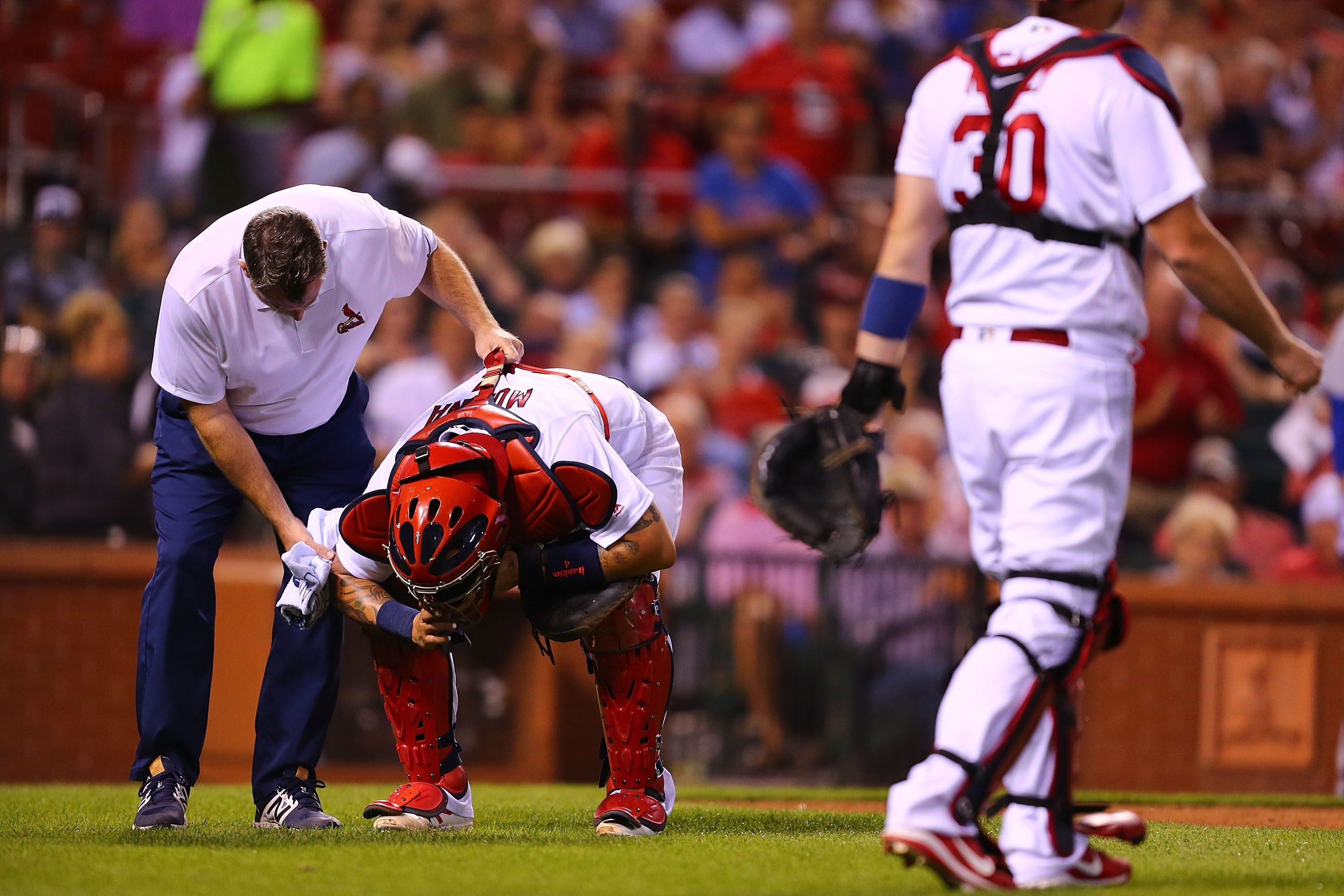 d659e067 St. Louis Cardinals: Yadier Molina NOT in Tuesday's lineup