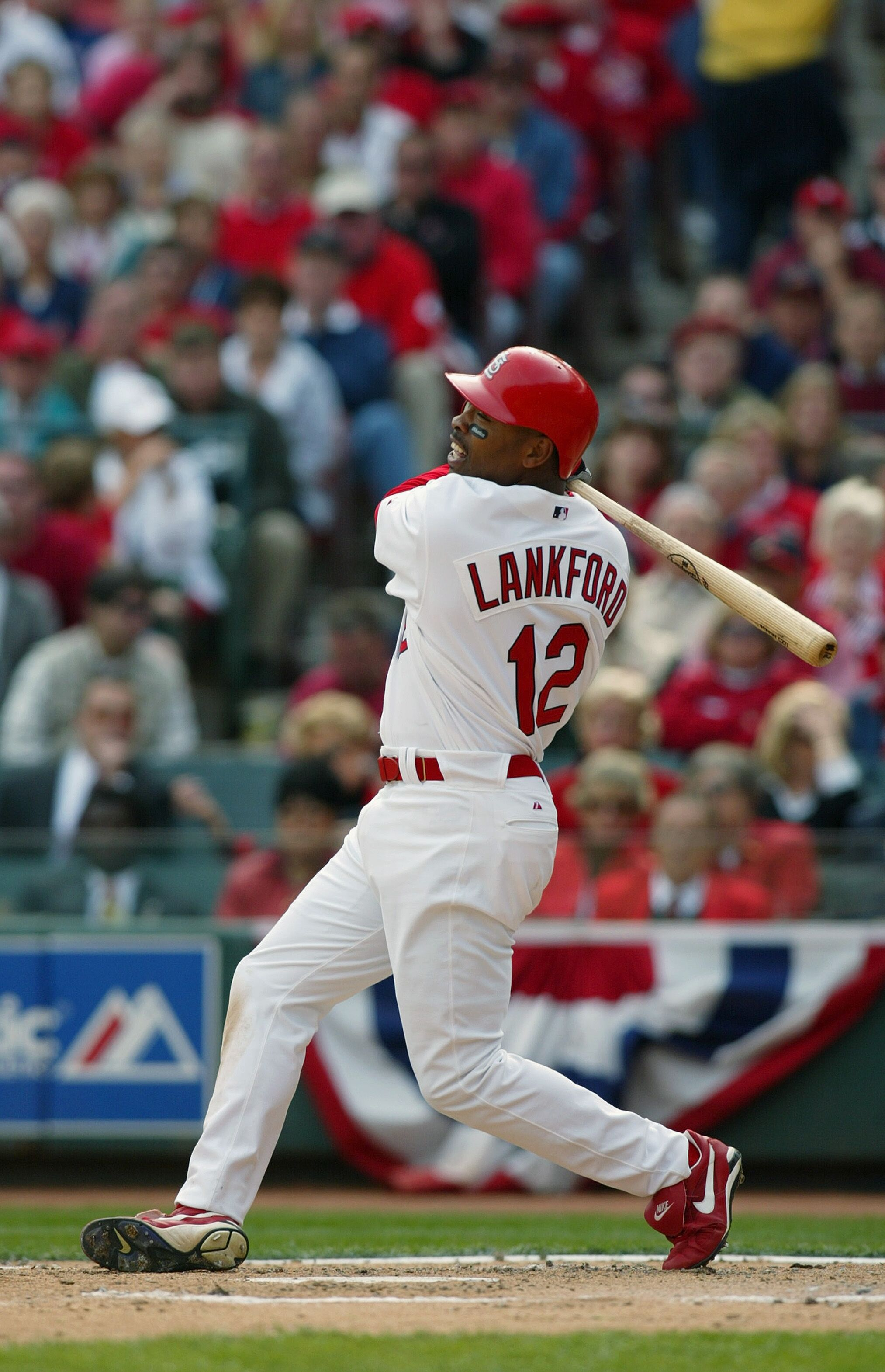 Brewers V Cardinals Jpg on Ray Lankford St Louis Cardinals