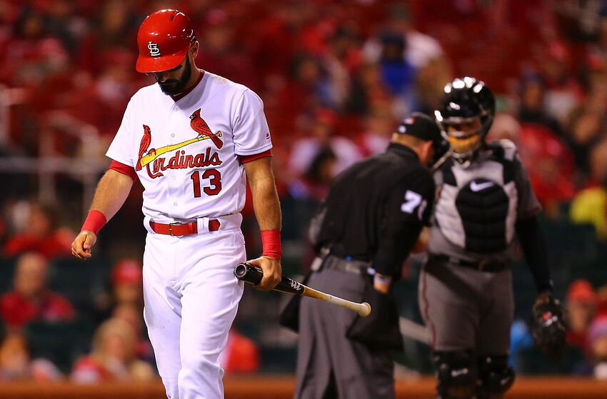 St  Louis Cardinals: Strikeouts outweigh hits in a month for