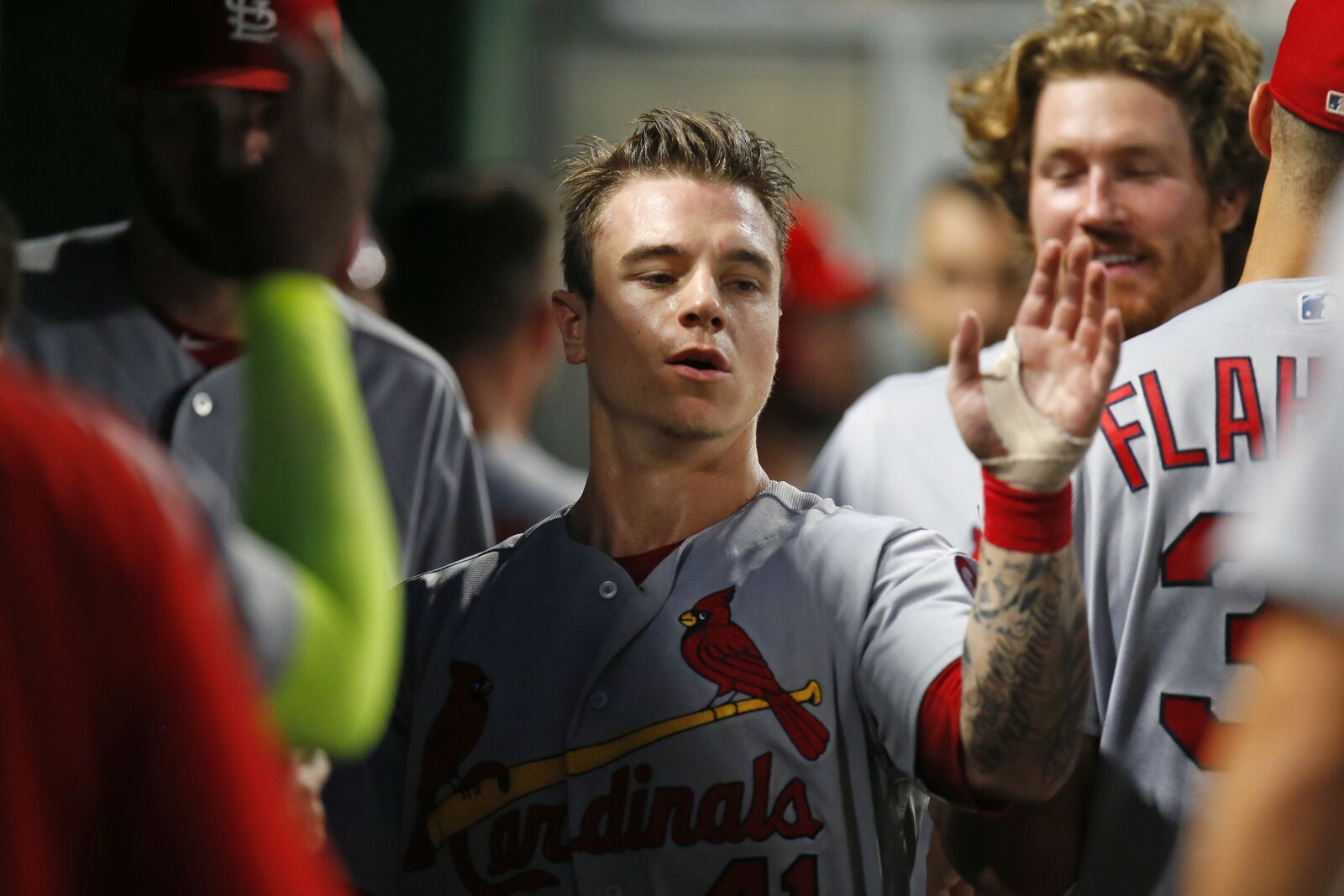 Do the St  Louis Cardinals have an AAAA player in Tyler O'Neill?