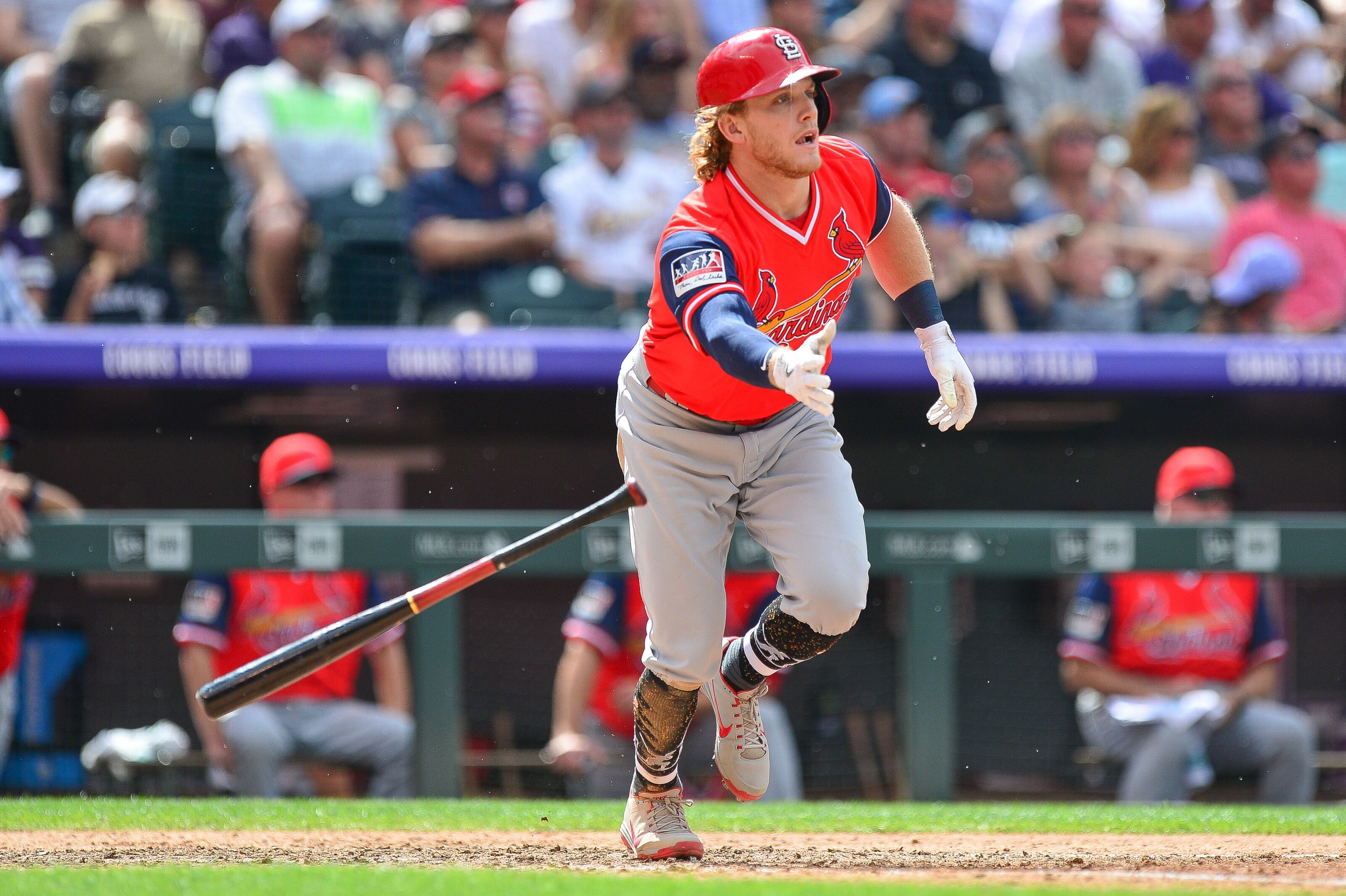 St. Louis Cardinals  The (un)surprising rise of Harrison Bader 8bb11aeb8