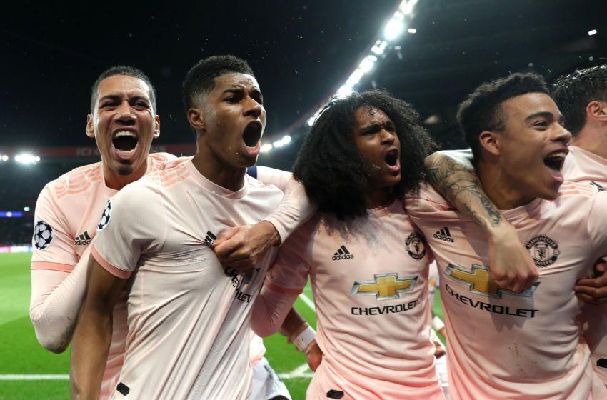 Image result for psg 1-3 man united