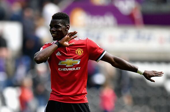 Paul Pogba: Manchester United midfielder featured in FIFA 18