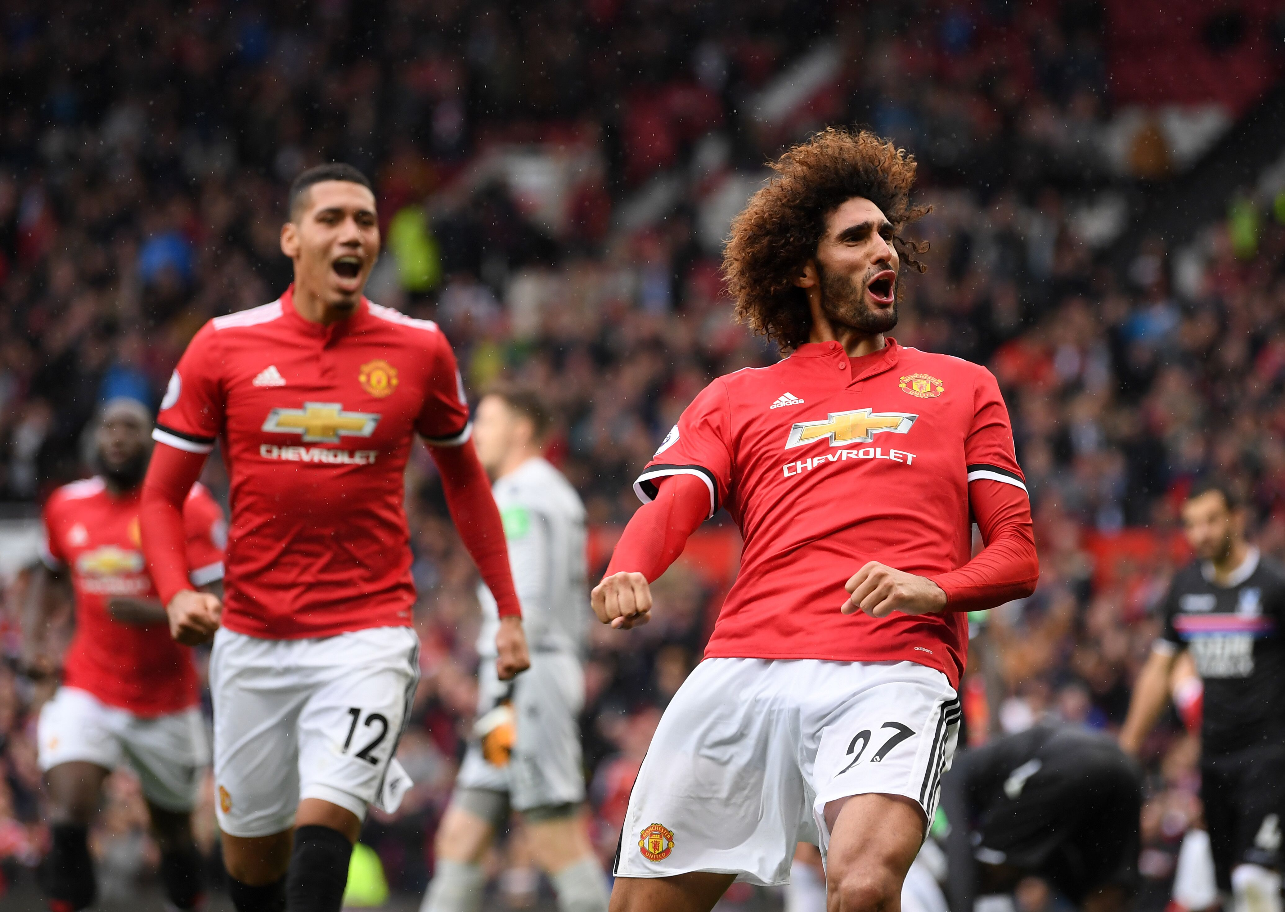 Marouane Fellaini set to miss big clash with Liverpool