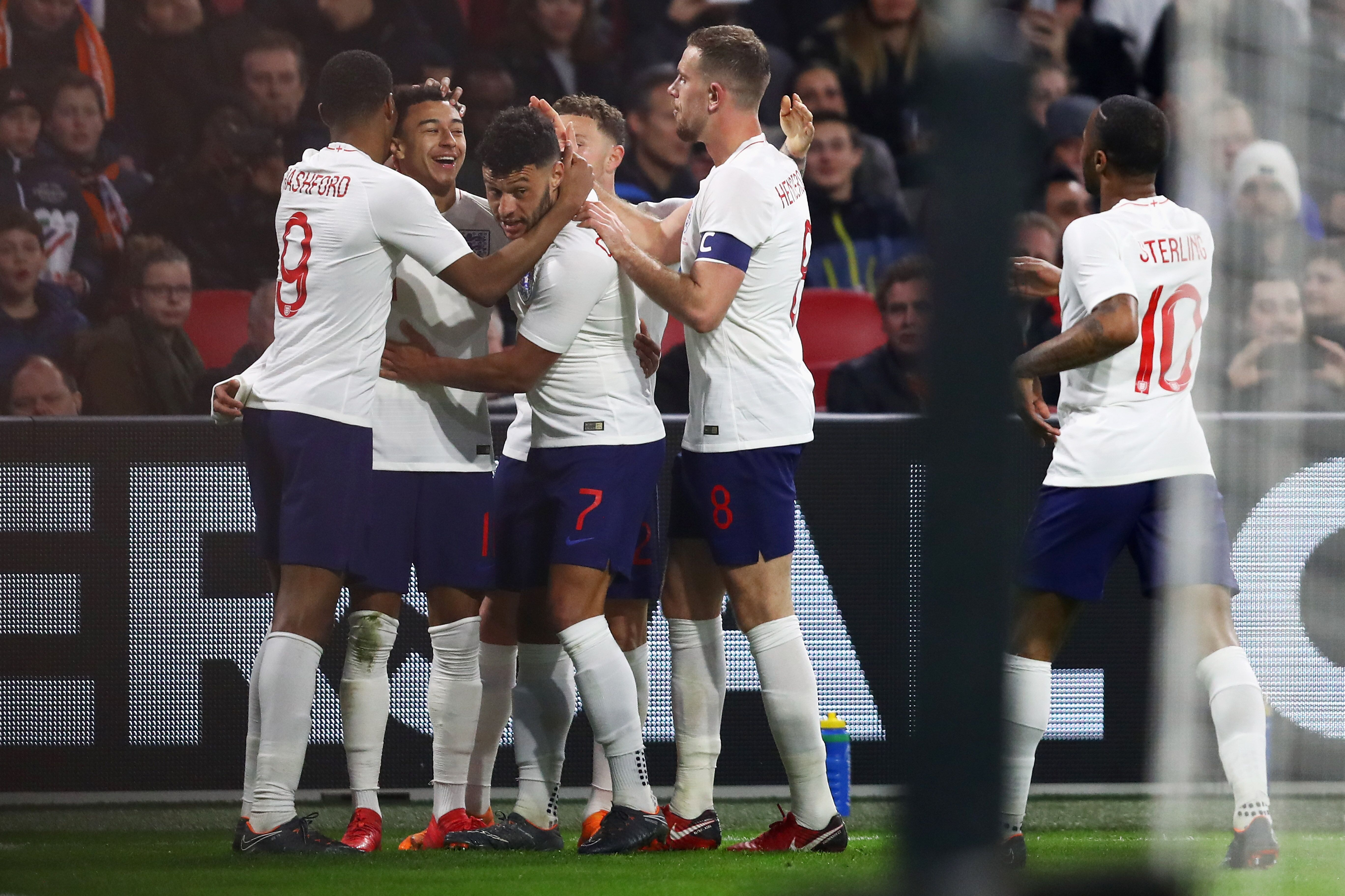 f9e4898e3bf Manchester United's Jesse Lingard scores winner in England's 1-0 victory  over Holland!