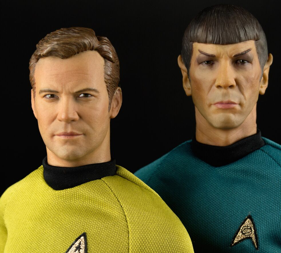The most realistic kirk and spock figures ever buycottarizona