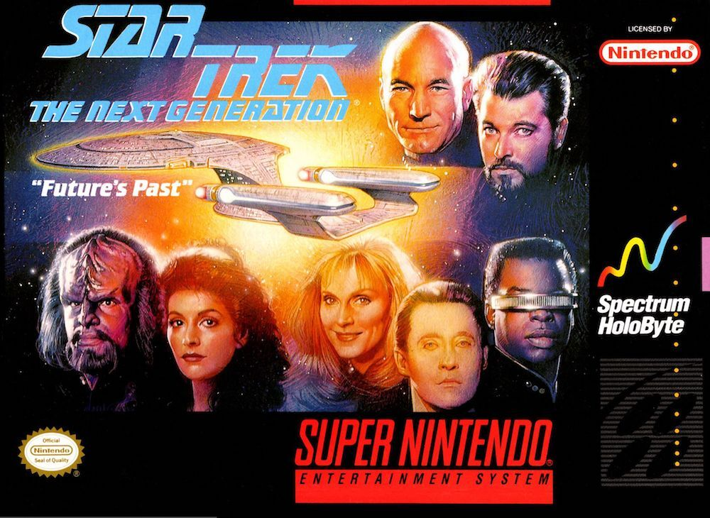 Remembering Star Trek: The Next Generation on the SNES