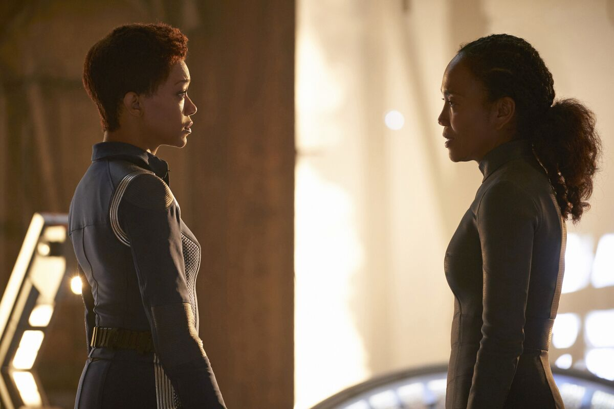 Sonequa Martin-Green discusses the Red Angel's identity