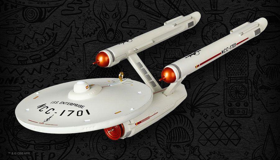 Hallmark announces 2019 convention exclusive Star Trek ornament