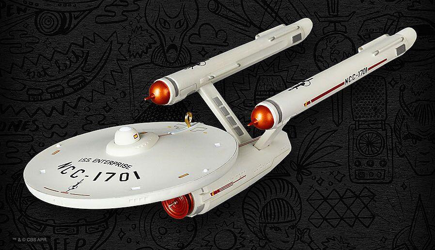Star Trek Christmas Ornament 2019 Hallmark announces 2019 convention exclusive Star Trek ornament