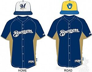 25565399387 Brewers Unveil New Spring Training