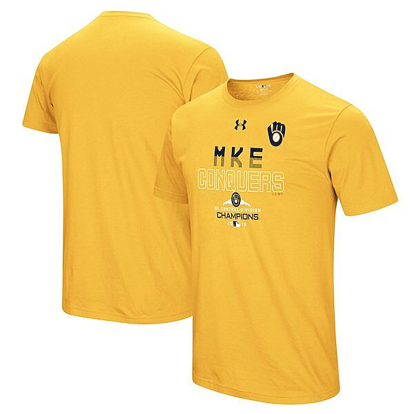 best website b03c2 b0b4f Get ready for the MLB Postseason with Milwaukee Brewers gear