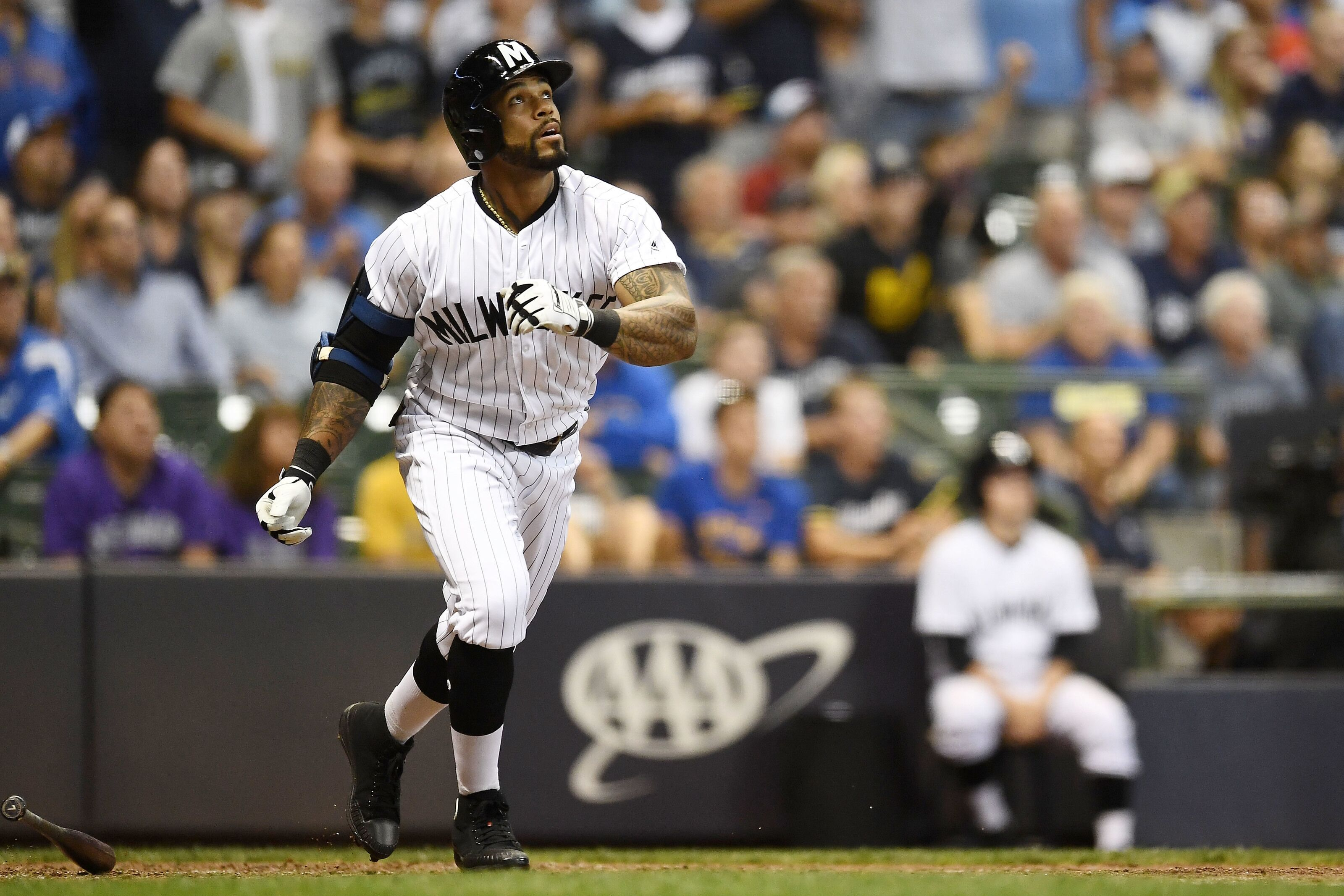 Milwaukee Brewers: Could The Marlins Be A Trade Fit For Eric Thames?