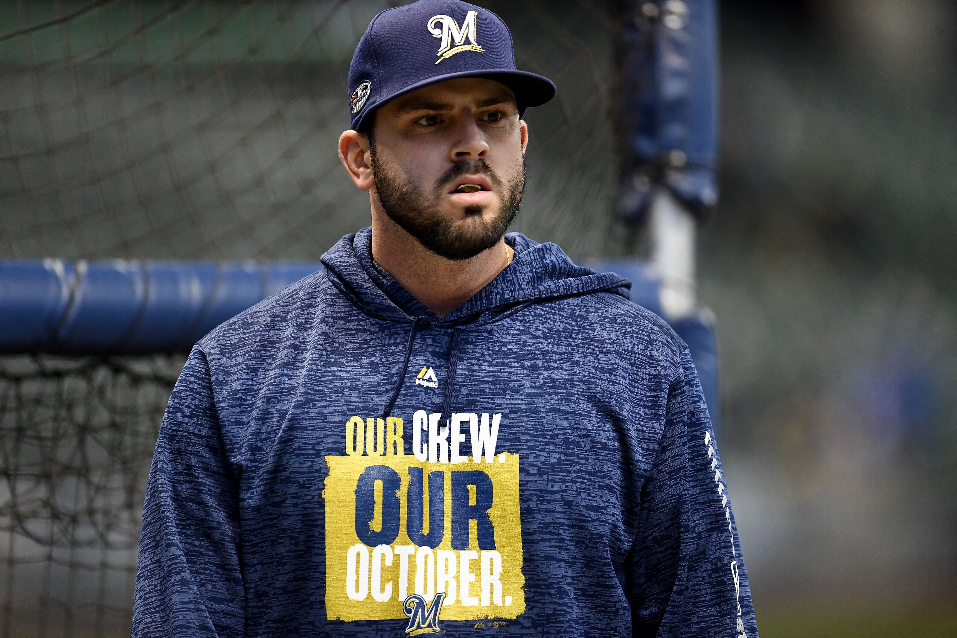 Milwaukee Brewers: Mike Moustakas Moving To Second Base?