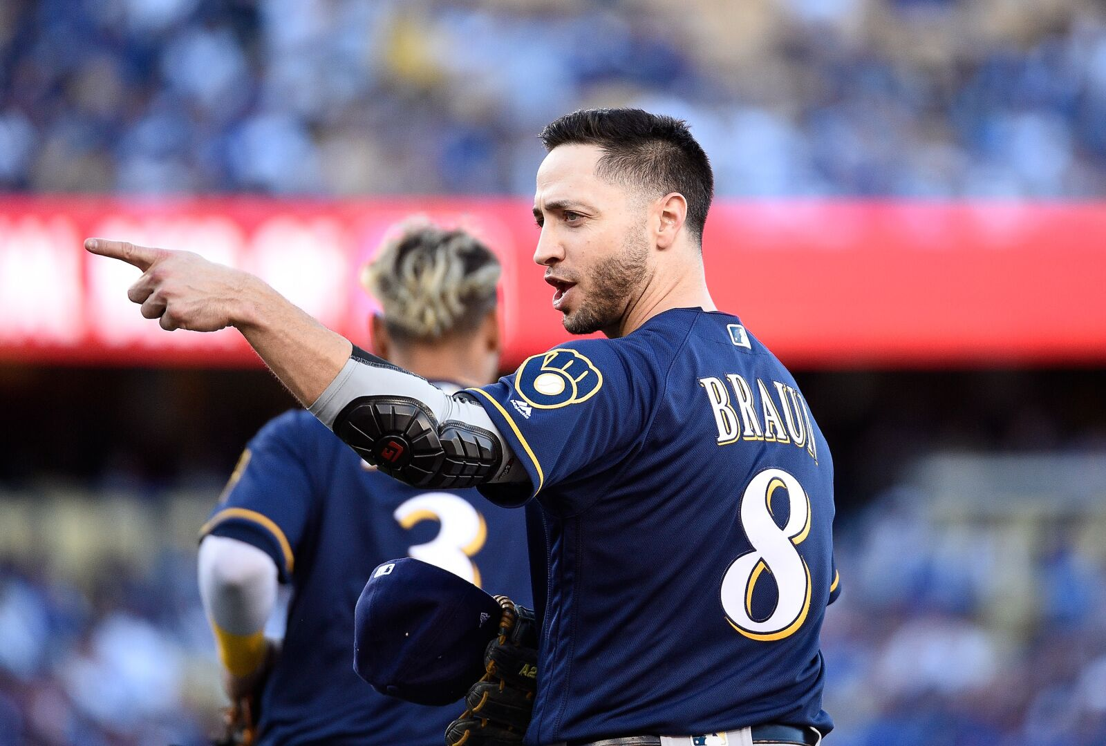 "Brewers Trying The ""Ryan Braun At First Base"" Experiment Again?"