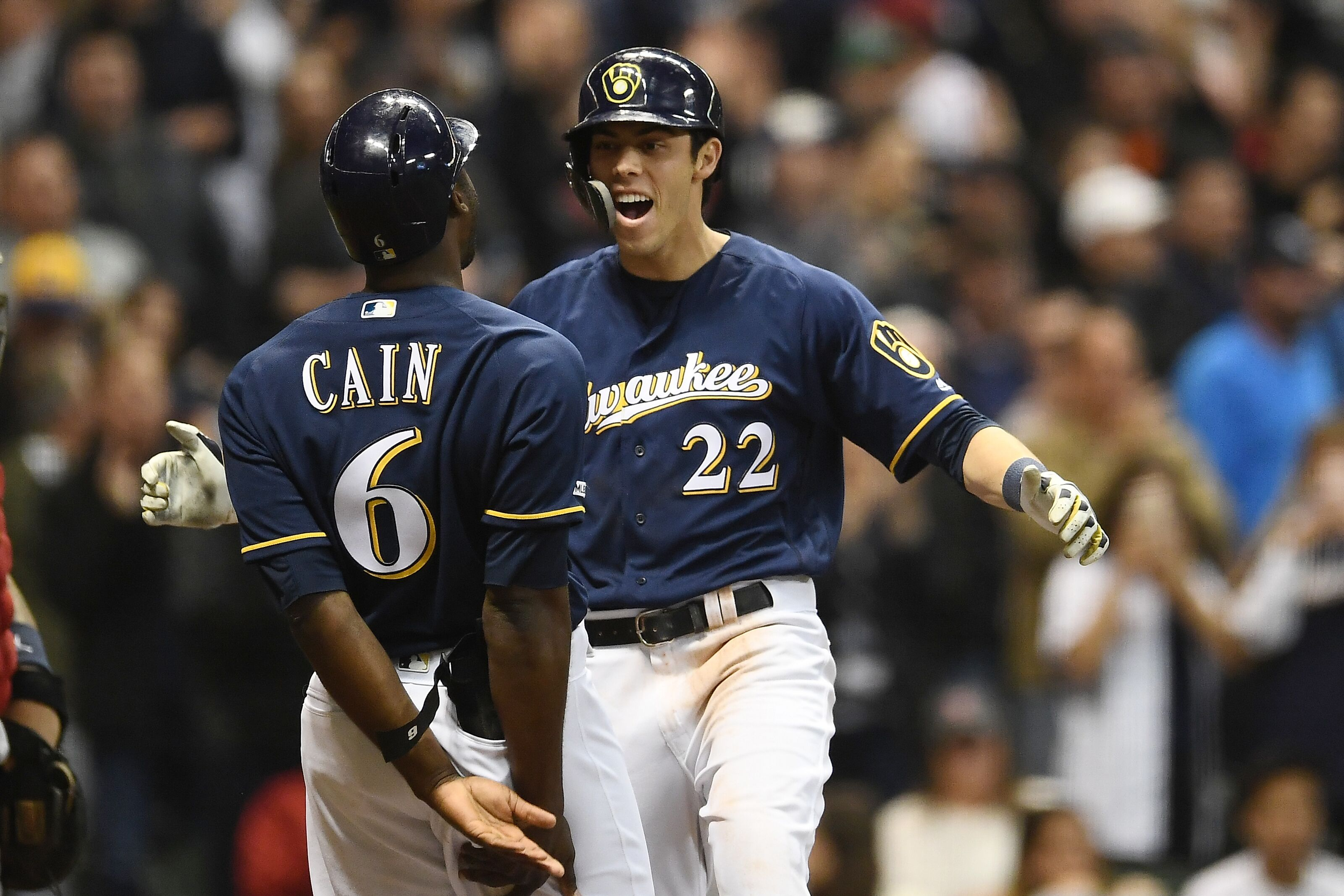 644cb6f48d2 Milwaukee Brewers  RtB Podcast - Christian Yelich Is Out Of This World