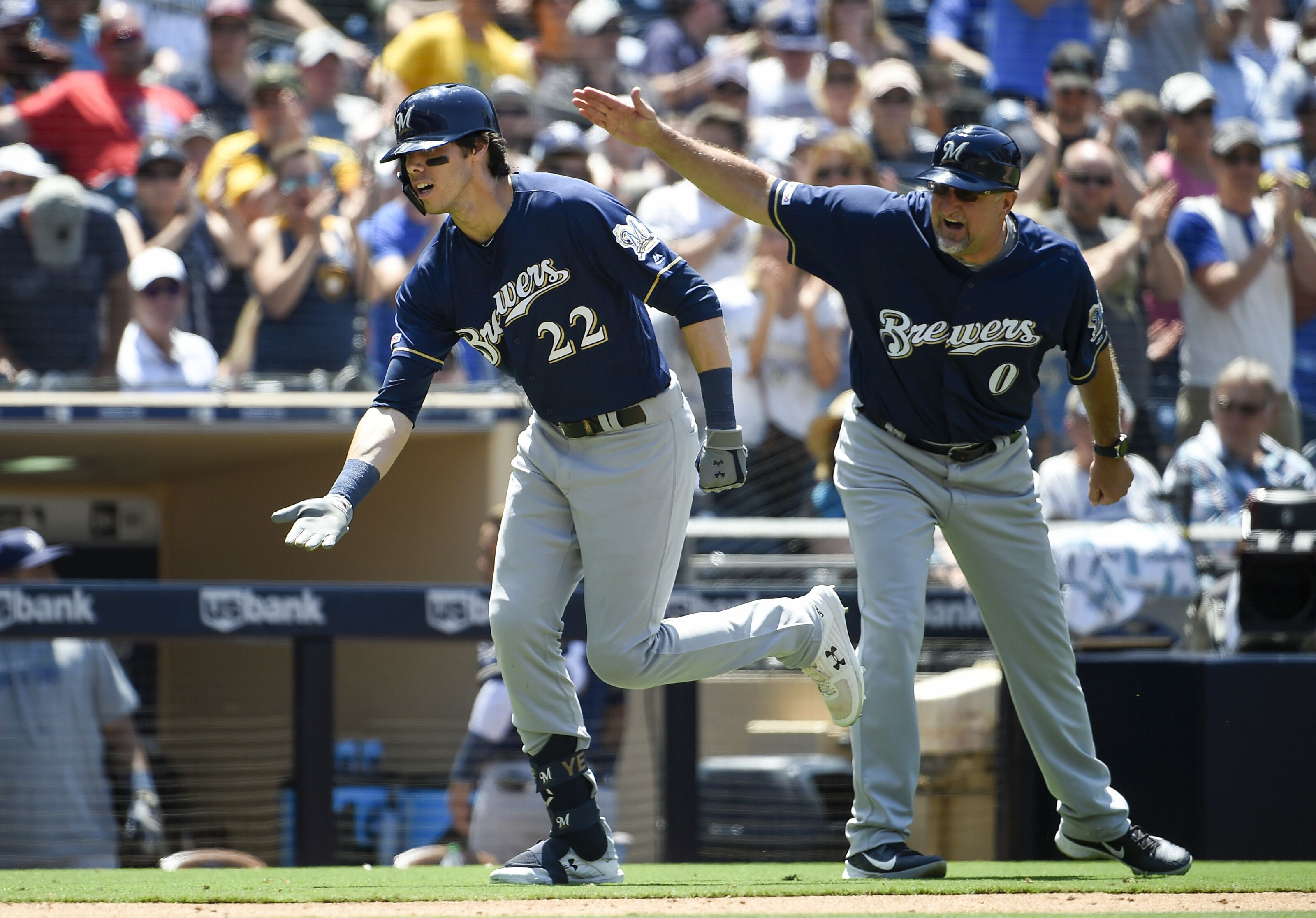 Milwaukee Brewers: Just How Great Can Christian Yelich Be?