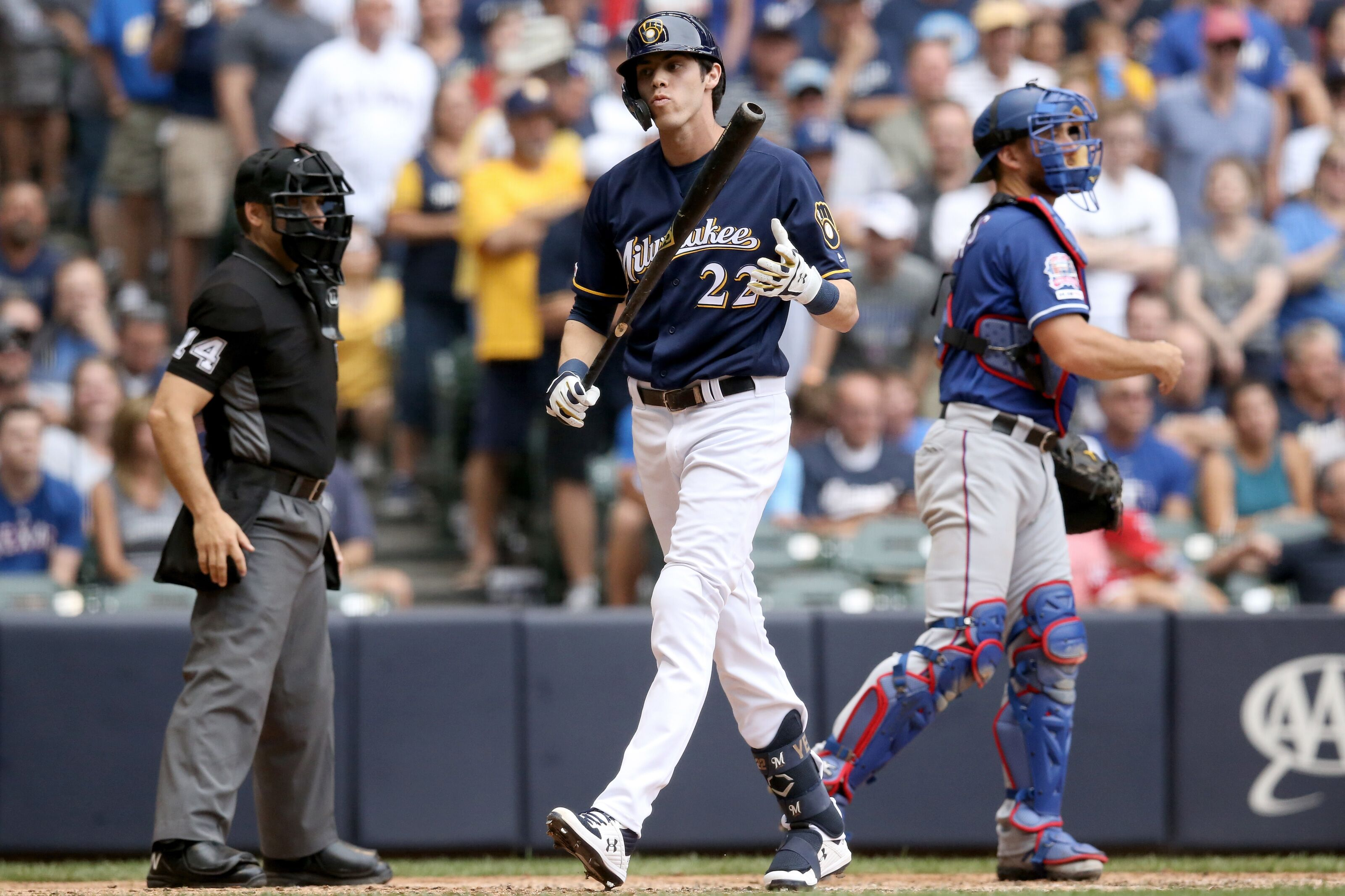 Milwaukee Brewers: When will Christian Yelich return to the lineup?