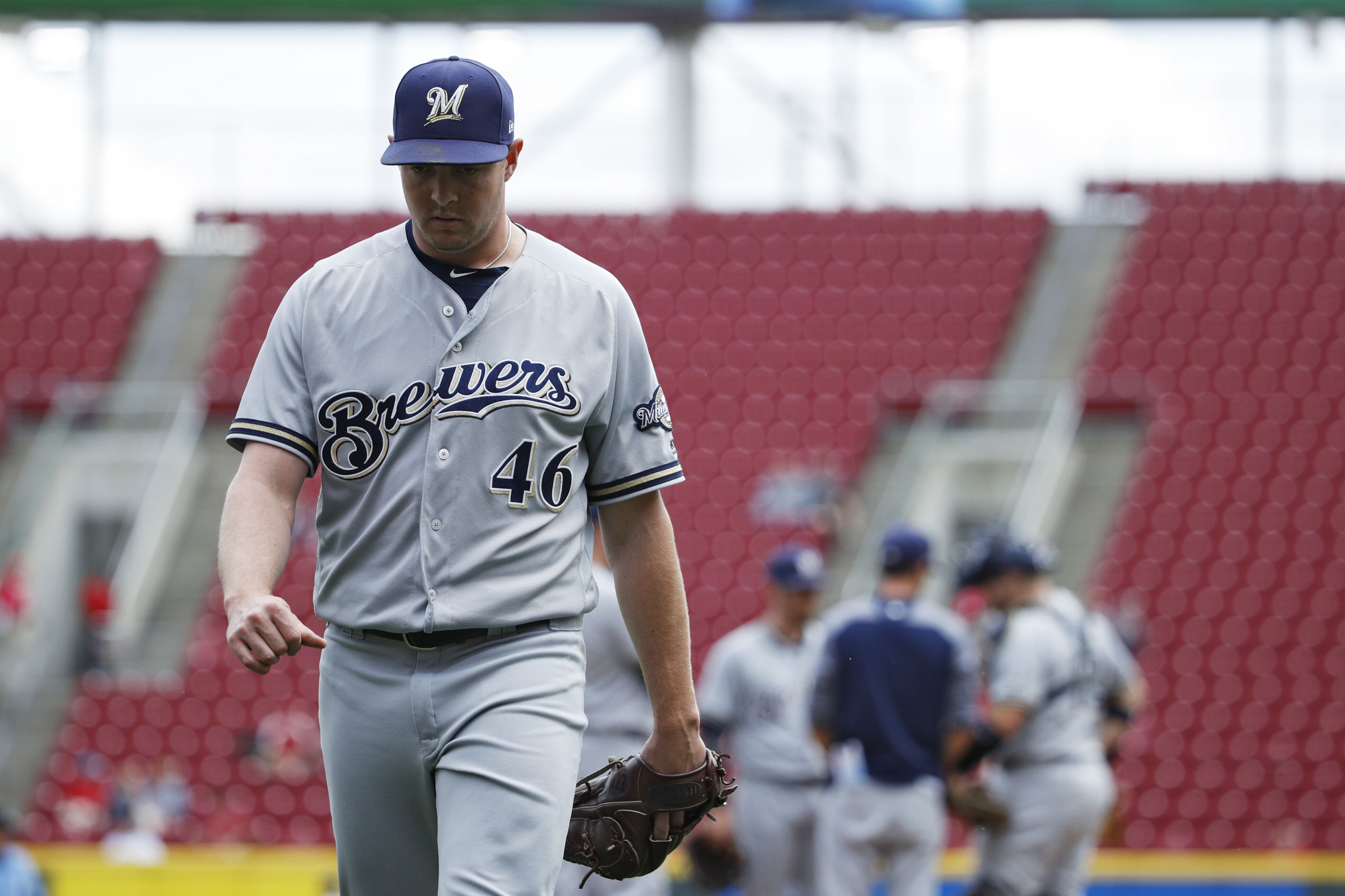 98bfbf2af Milwaukee Brewers  What to do with Corey Knebel and the ninth inning